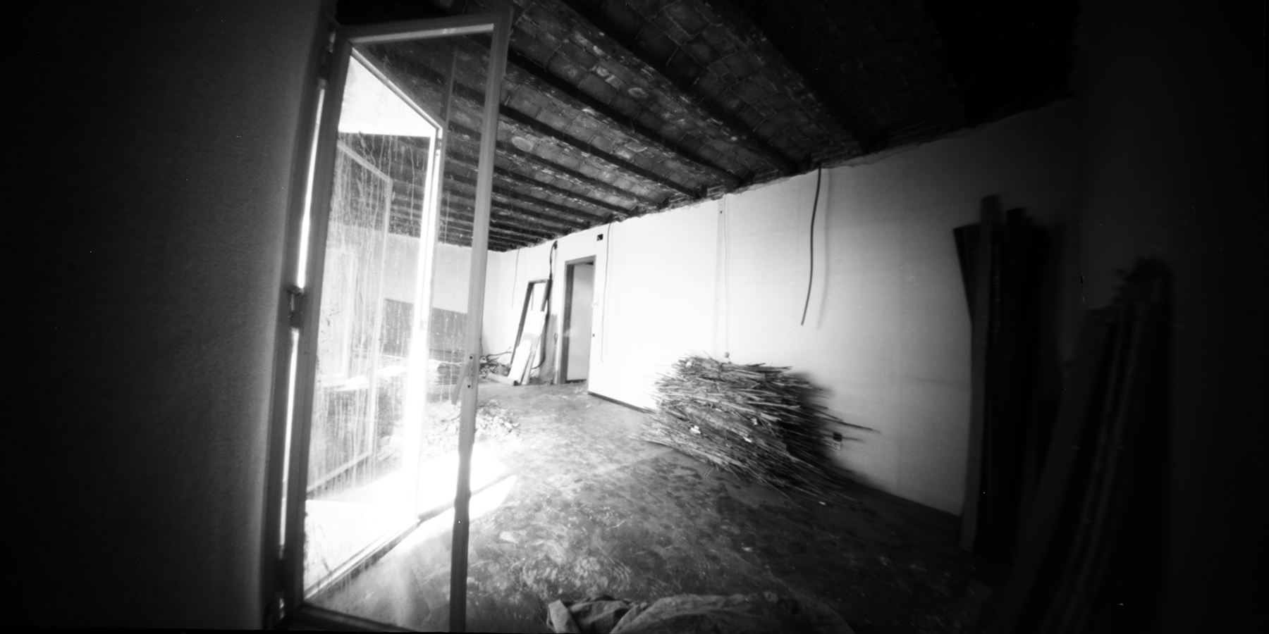 A Reason to be Out of Home | 8 Banners 6x12 Pinhole | Jesus Joglar