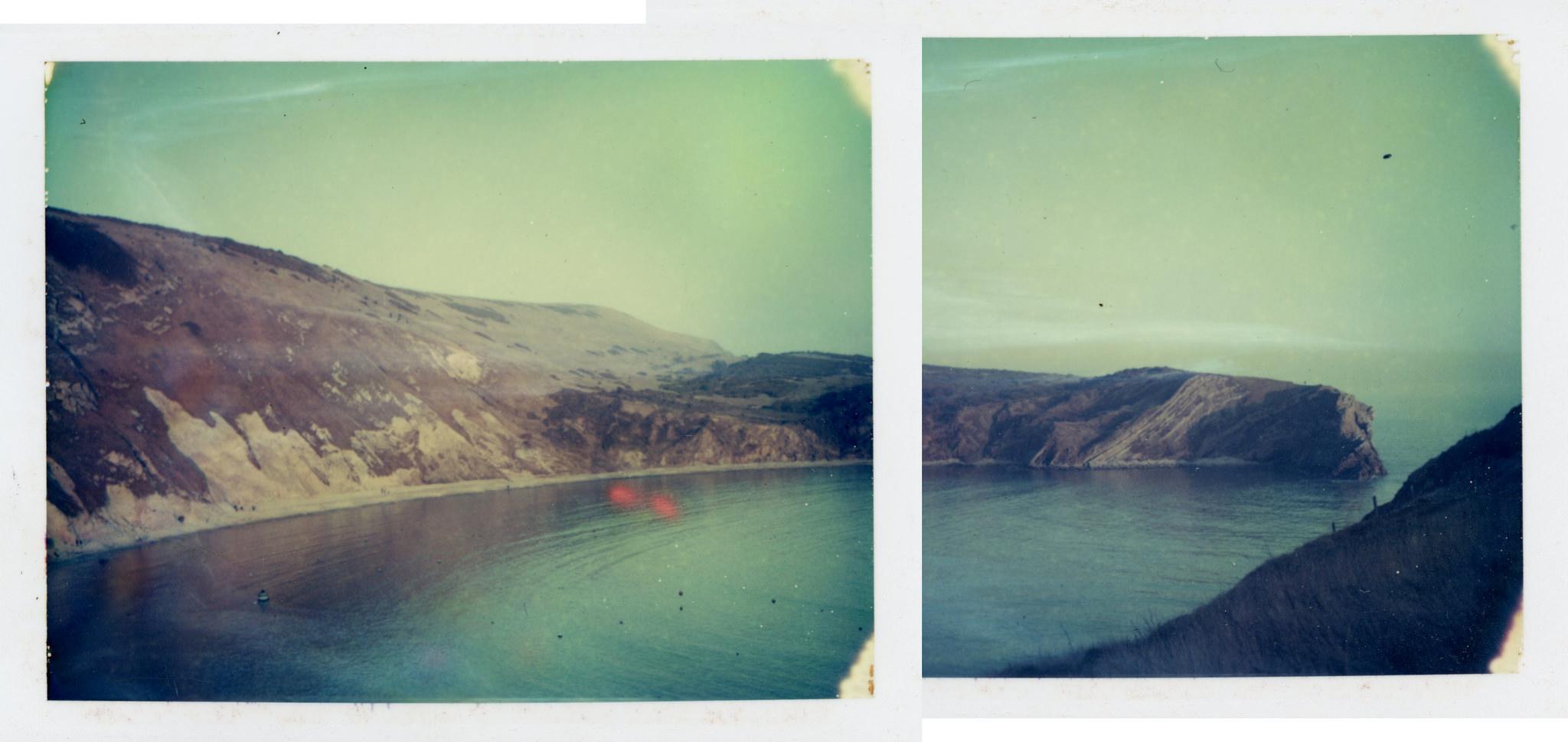 Lulworth Cove | Speed Graphic | Polaroid Type 108 FIlm | Matt Smith