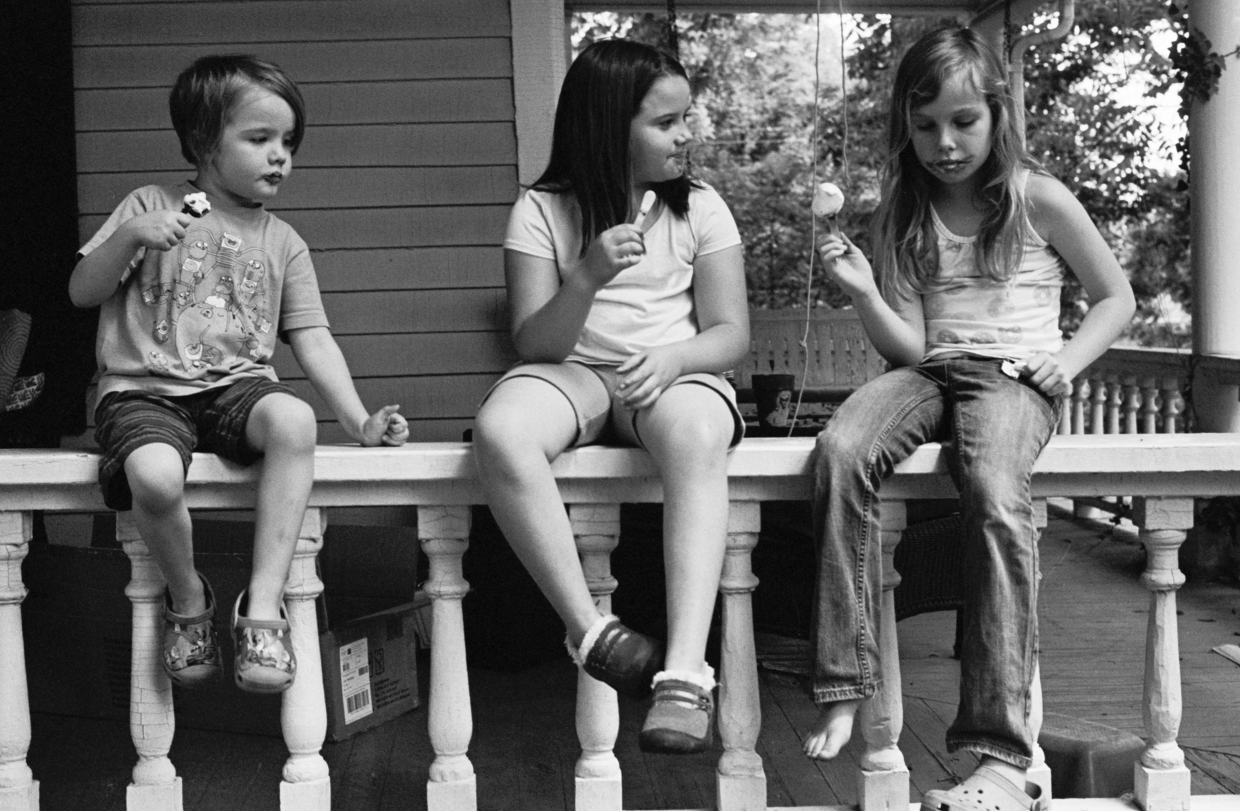 Ice Creams   NikonF   Kodak Tri-X   Amy Jasek