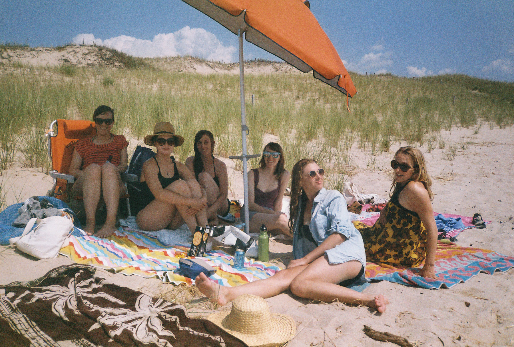 Ladies Camping   Yashica T4 Super   Katie Mollon