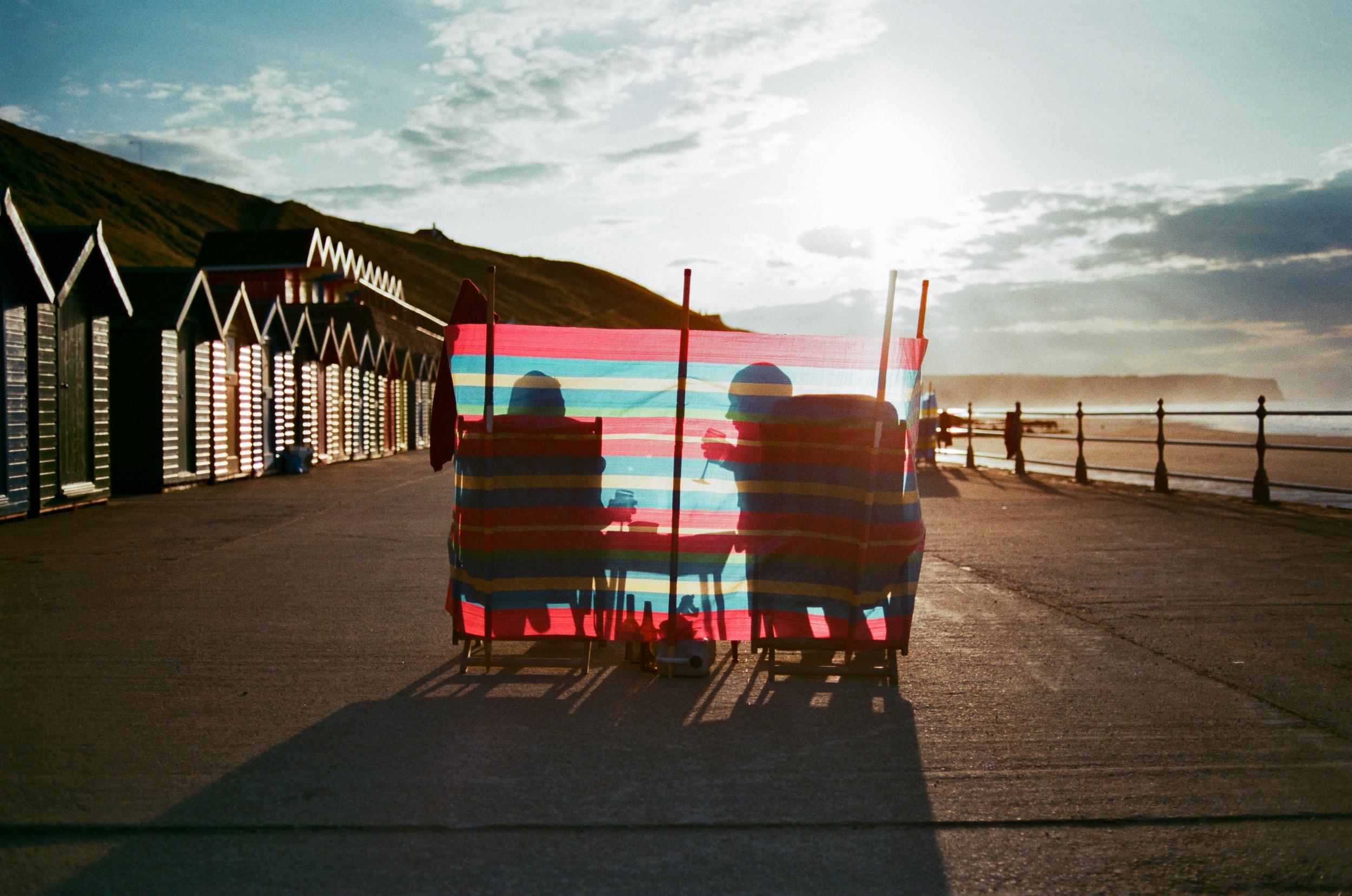 Whitby Beach Huts   Nikon F5   35mm   Agfa Vista 200   Mark Hillyer