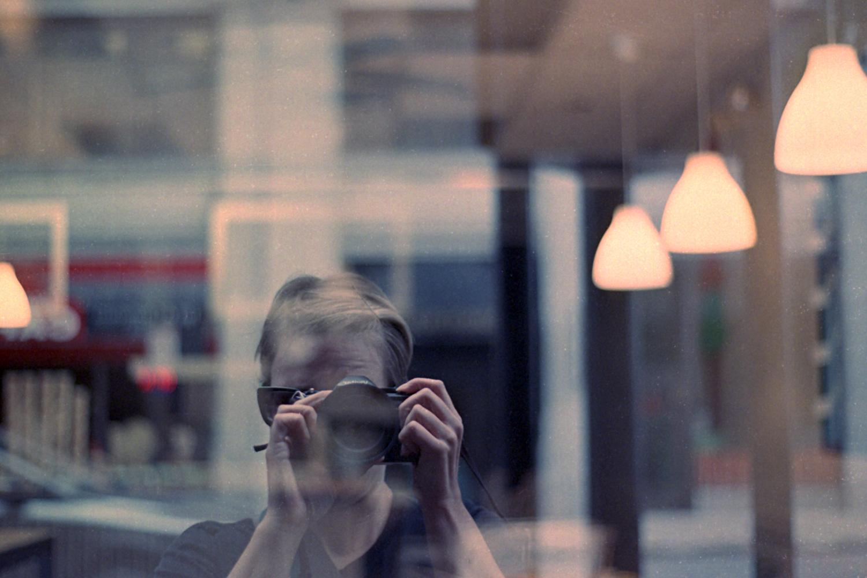 Gina Gorsek | Reflection | Vivitar V3800N | 50mm f1.7 | Fuji Superia X-tra 800
