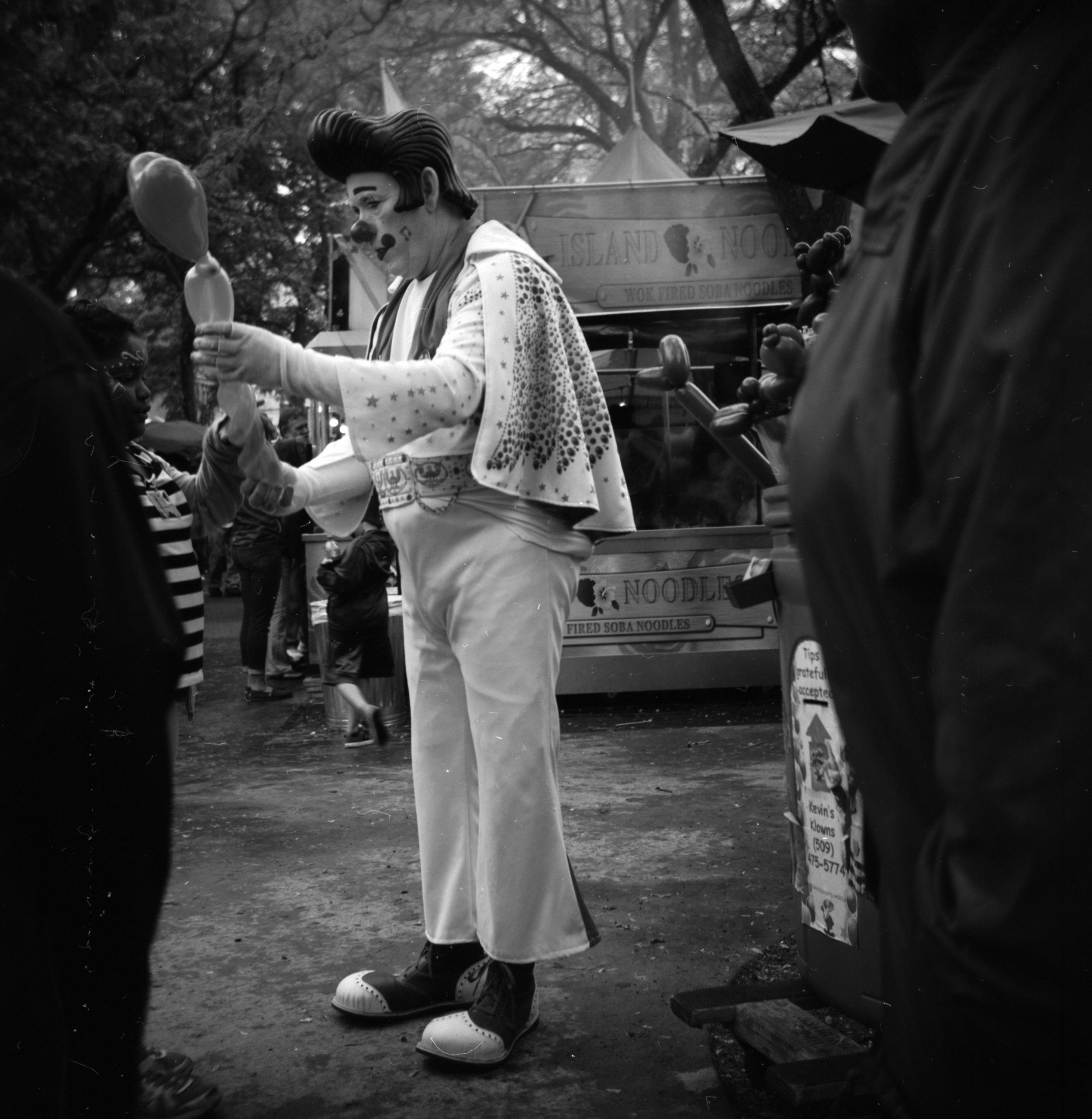 Elvis Clown   Kodak Duaflex III   Acros   Sam Margulis