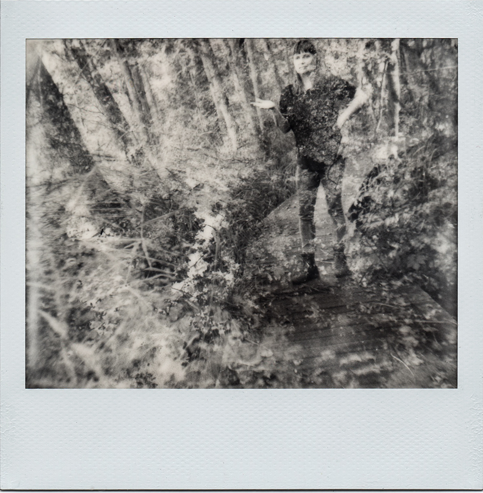 me myself and I | Impossible Project I-A | IP Black and White | Karin Claus