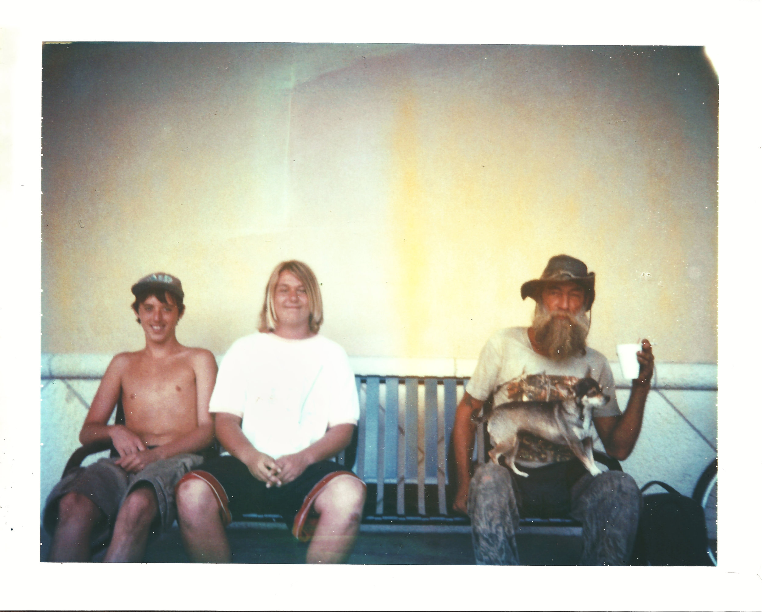 Generation Gap | Polaroid Color Pack 3 | Polaroid Type 669 | Aimee Lower
