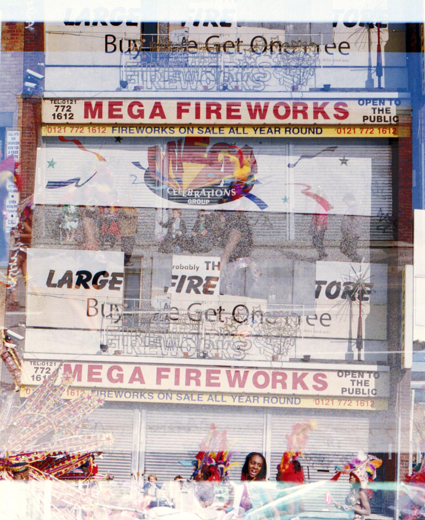 Mega Fireworks | Pentax LX | 50mm | Richard PJ Lambert