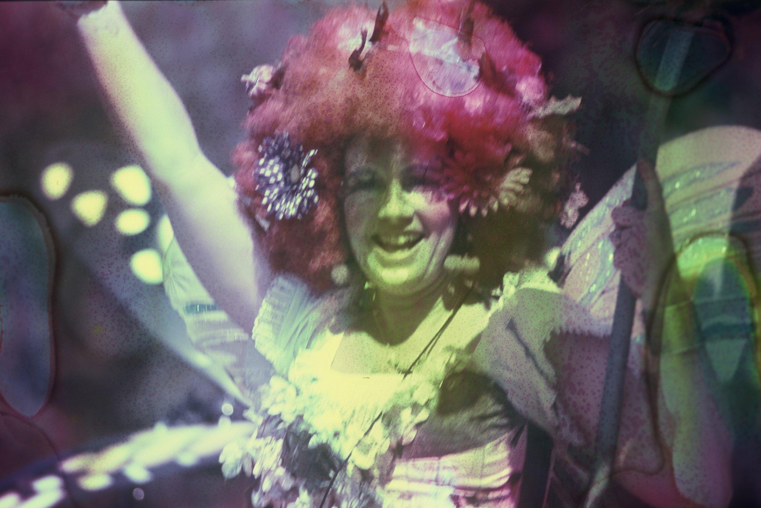 Circus fairy | Pentax K1000 - Fuji Velvia 100 soaked in absynthe | Barbara Murray