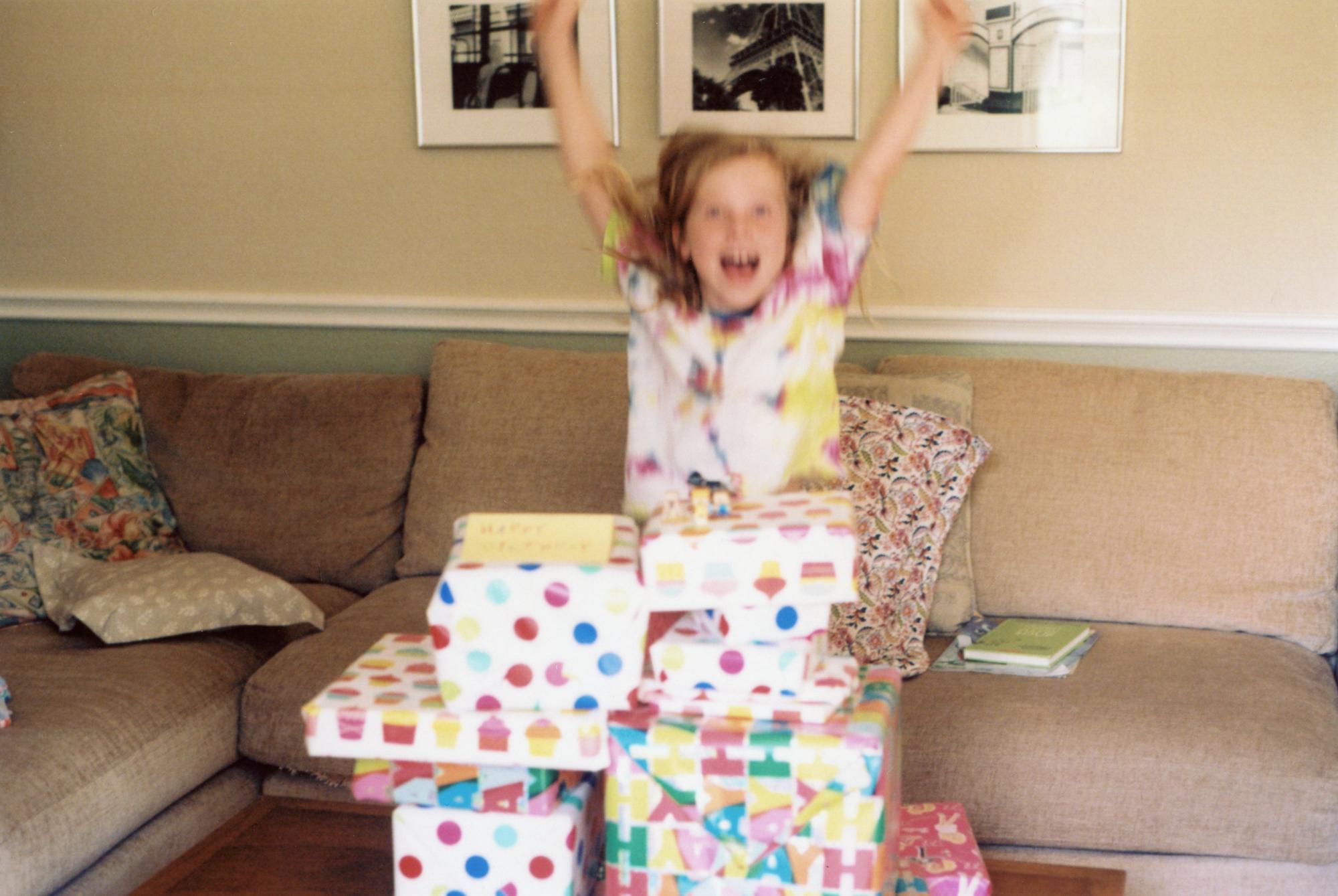 Birthday Girl | Nikon FM2 - Kodak Gold 200 | Amy Jasek