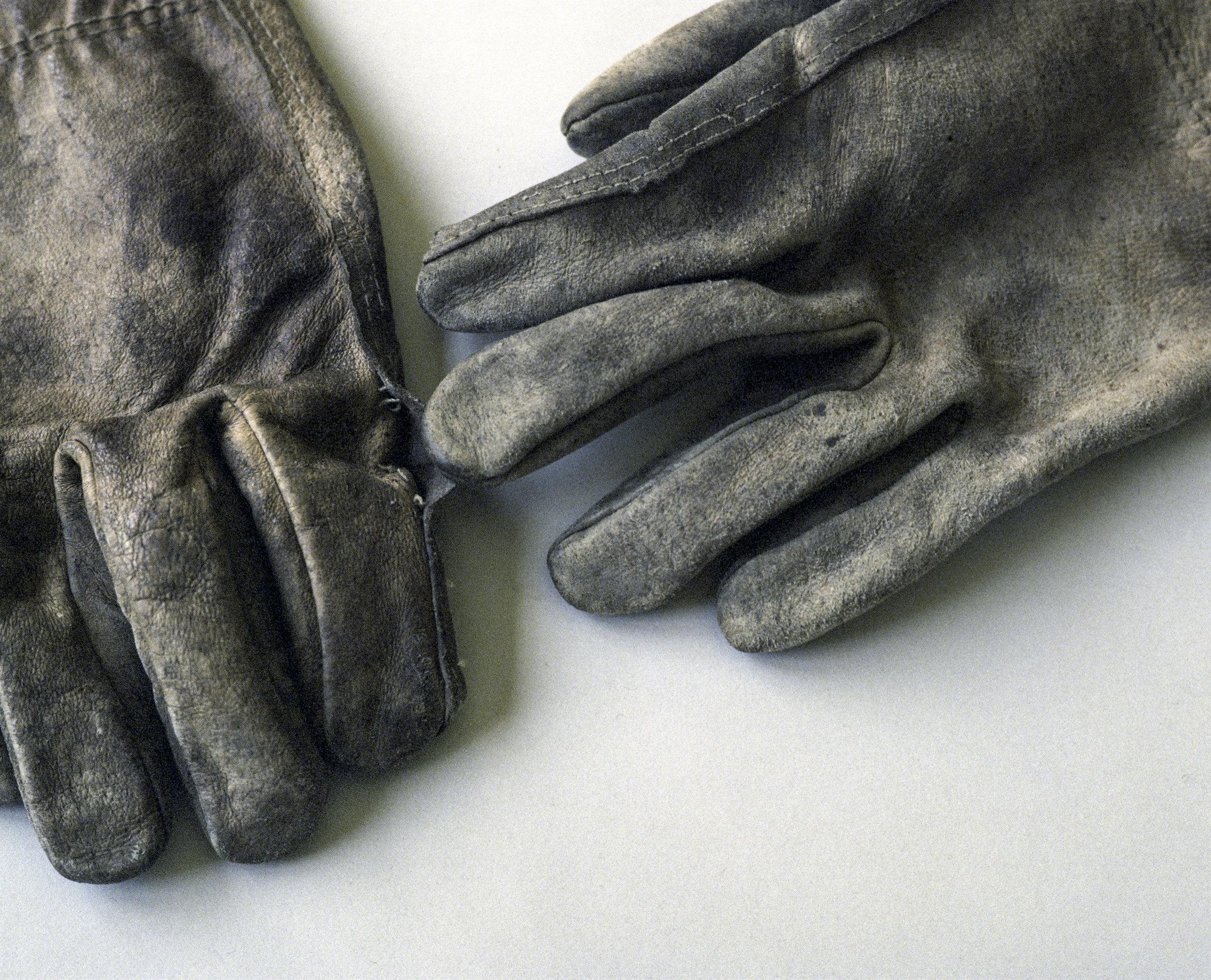 My Father's Gloves   Mamiya Press Super 23   Mamiya-Sekor 100mm f3.5 E   Kodak Ektachrome 64 (expired 1986, cross processed)   Adrian Douglas Gilliam