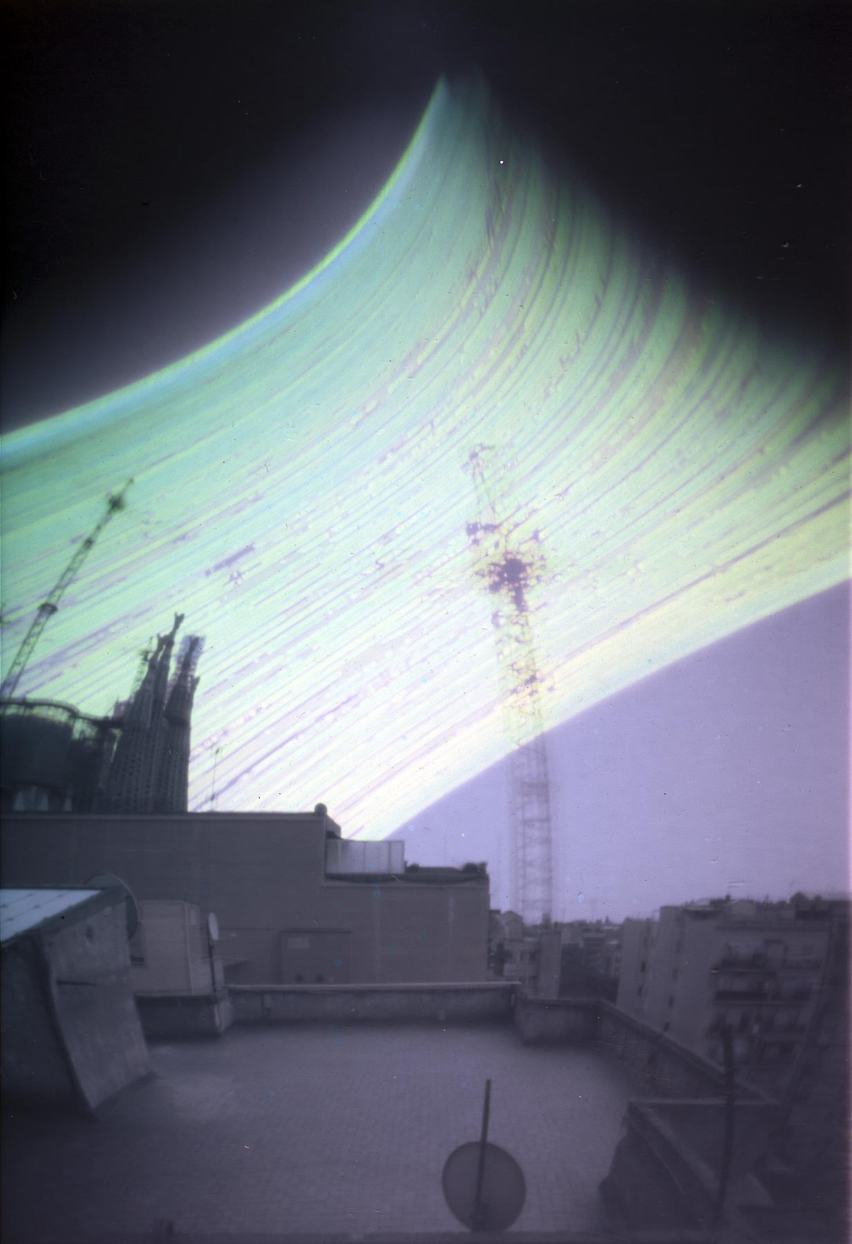 Sagrada Familia | Solargraphy | Jesús Joglar