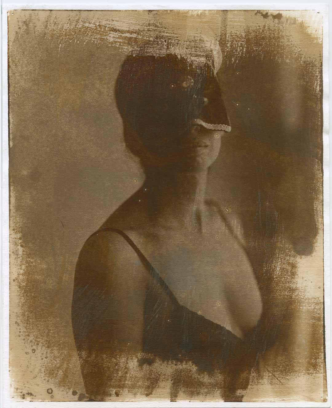 masquerade | albumen print from xray negative | ralph whitehead