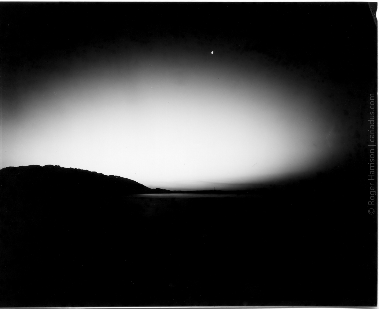 Watchtower Bay | Crown Graphic 5x4 | Imago Direct Positive Paper | Roger Harrison