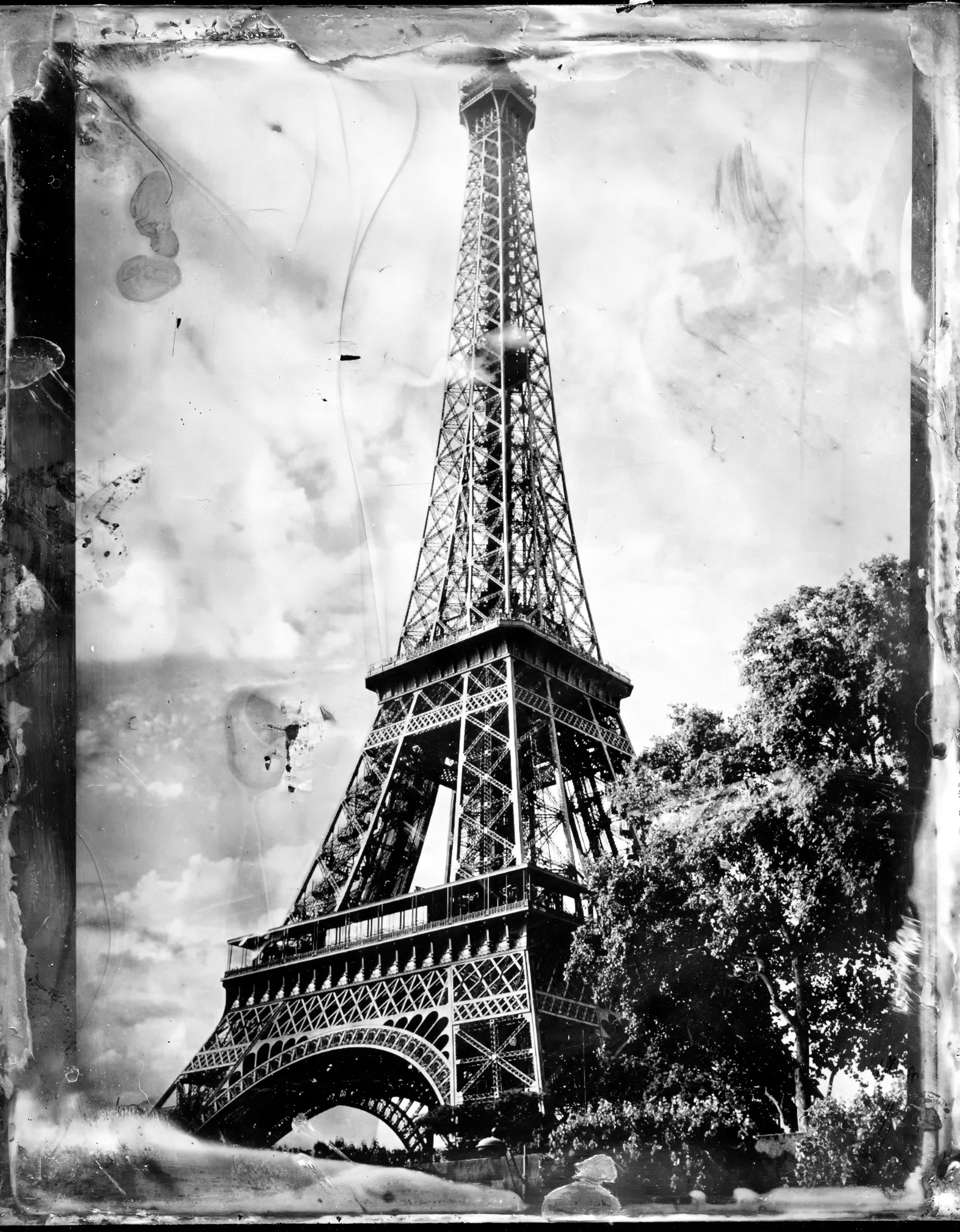 Tower | Tintype | Wetplate | Crown Graphic 4x5 | Kelly-Shane Fuller