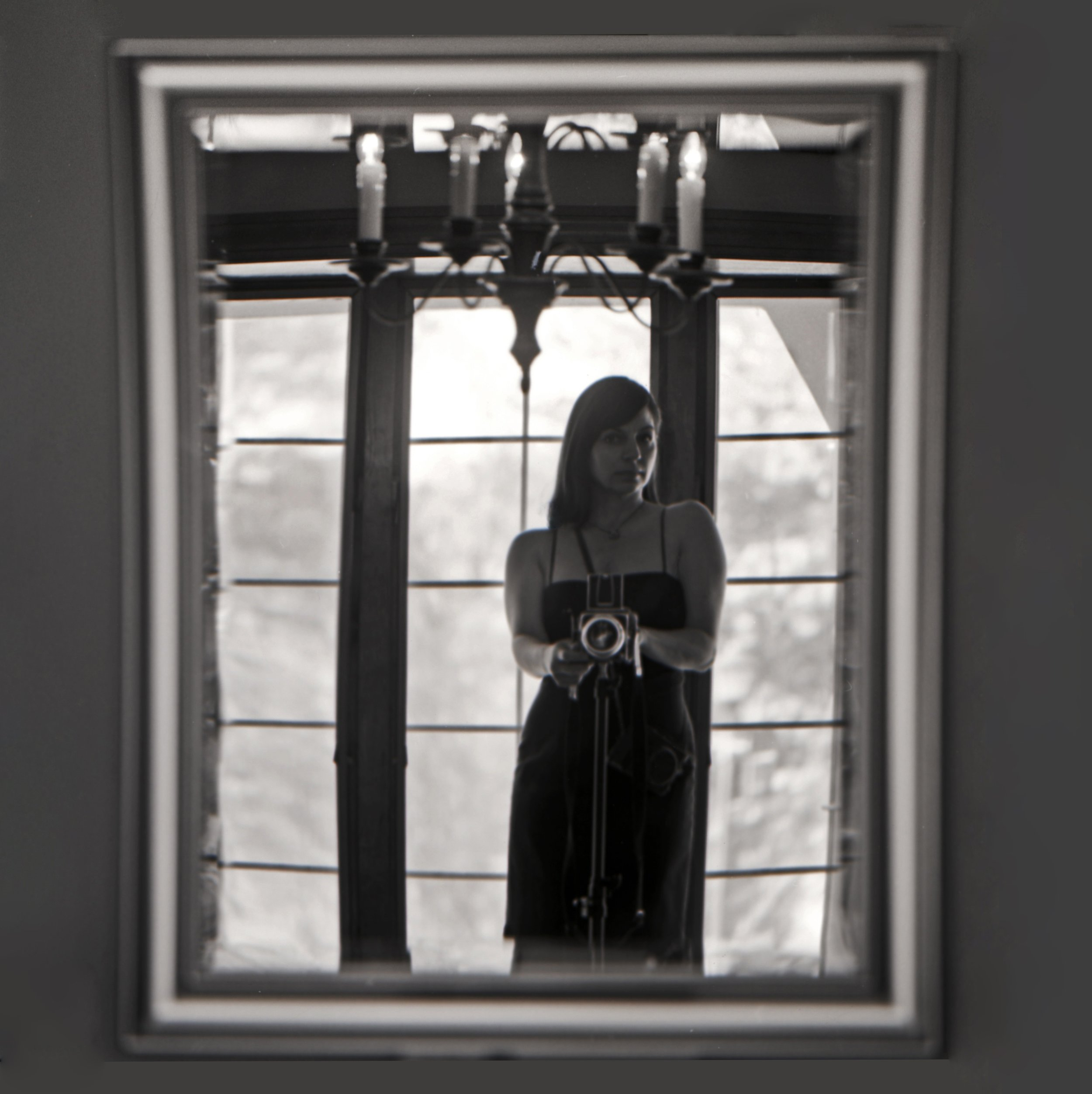 Ellen Goodman - Reflection | Hasselblad 500 CM | Kodak T-Max 400