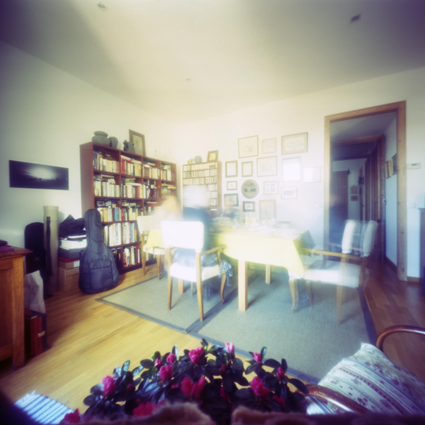lunch time | 6x6 Katatumuri cardboard pinhole cam | Kodak Ektar 100 | Jesús Joglar