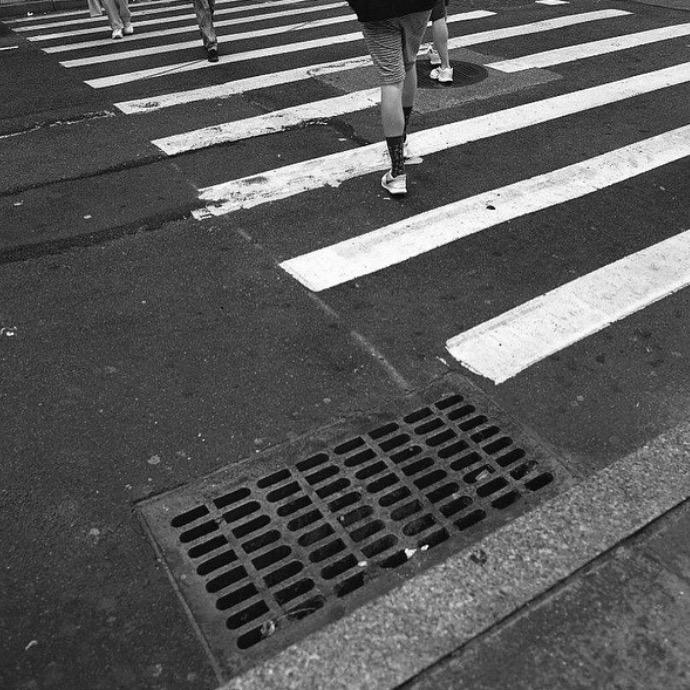 Walk | Bronica SQA | 65mm | T Max 400 | Jennifer Zehner