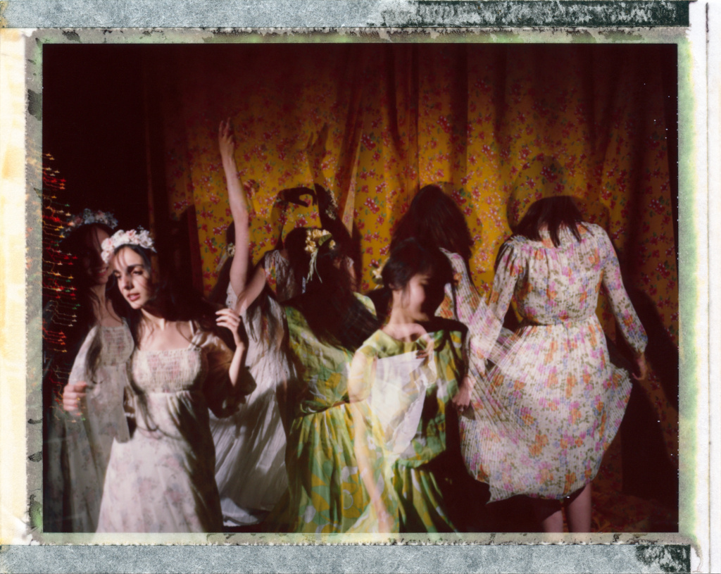 Night Spinning | Polaroid Land 100 | Fuji FP100C | Nicholas Marshall | @monodistortion
