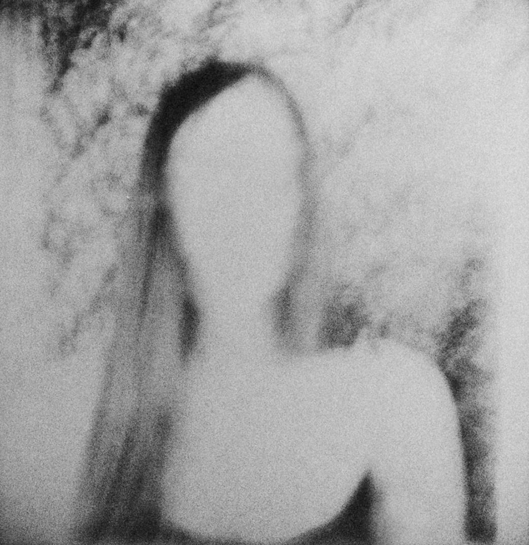 Zoe | Polaroid SX70 | Impossible Project 70 BW | Jean-François Flamey | @jf_flamey