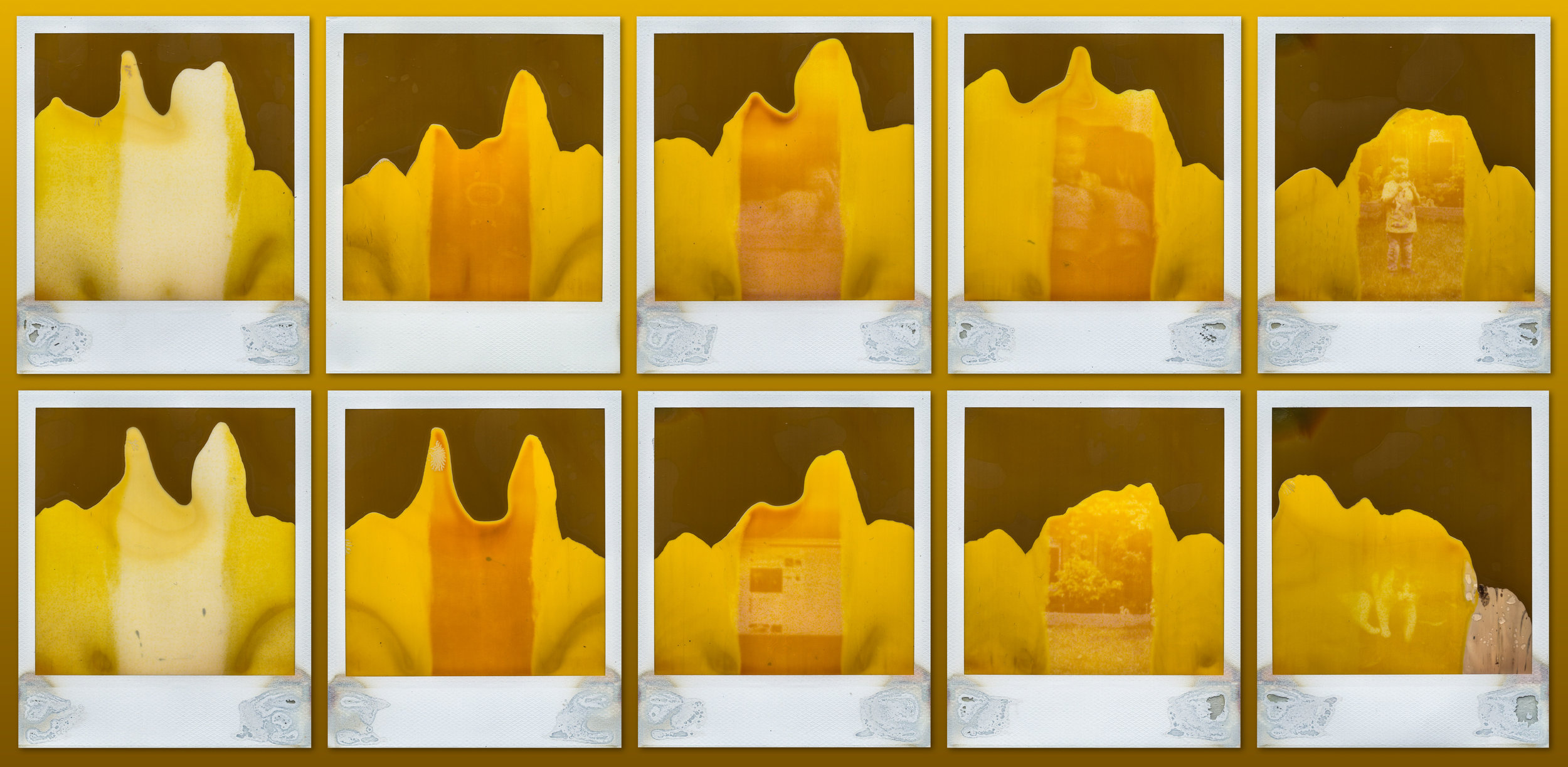 2x5 | Polaroid SX70 | Polaroid 600 (Expired) | Collage | Karin Claus | @karinclaus