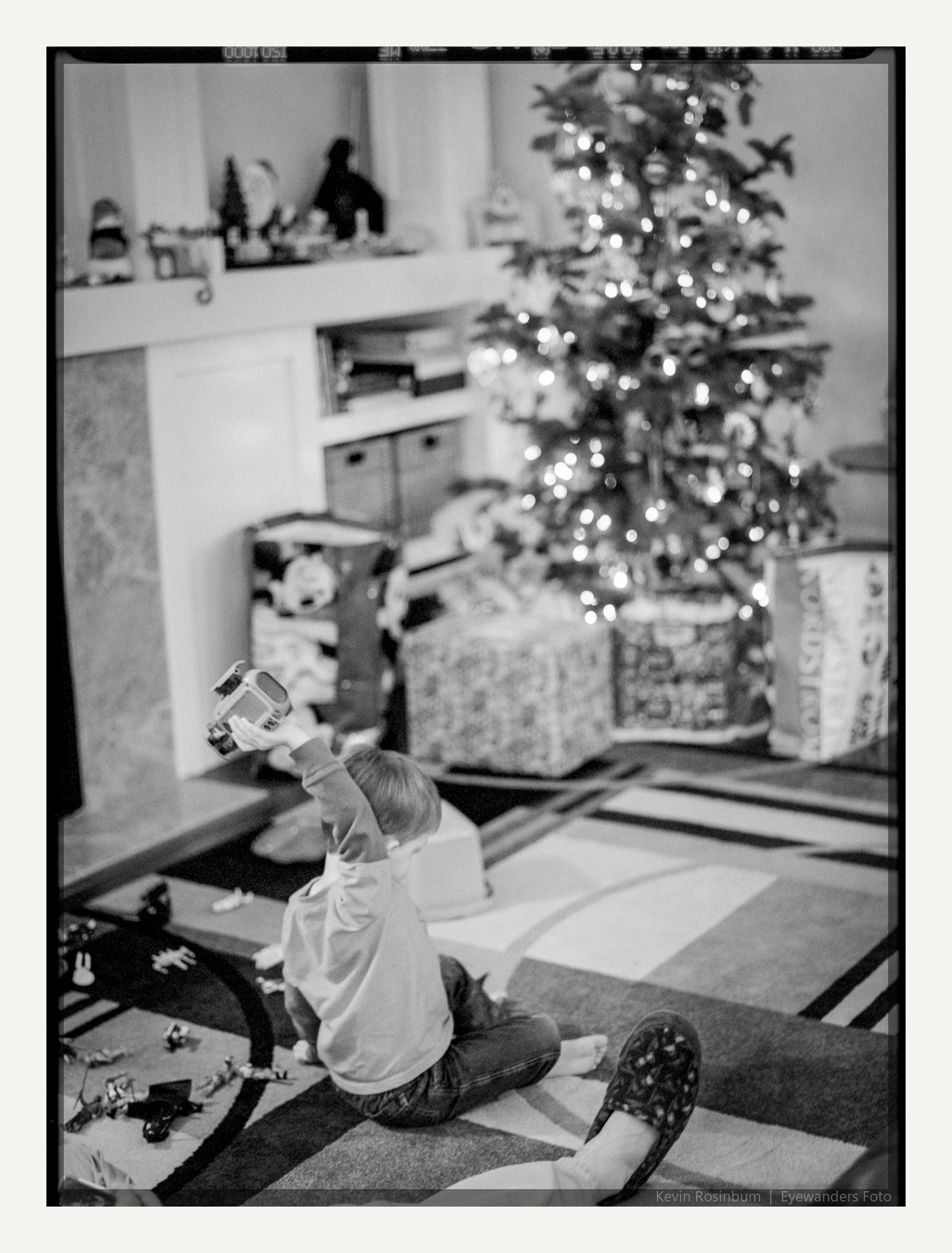 Christmas Score!   Pentax 645NII 45mm   HP5+   Kevin Rosinbum