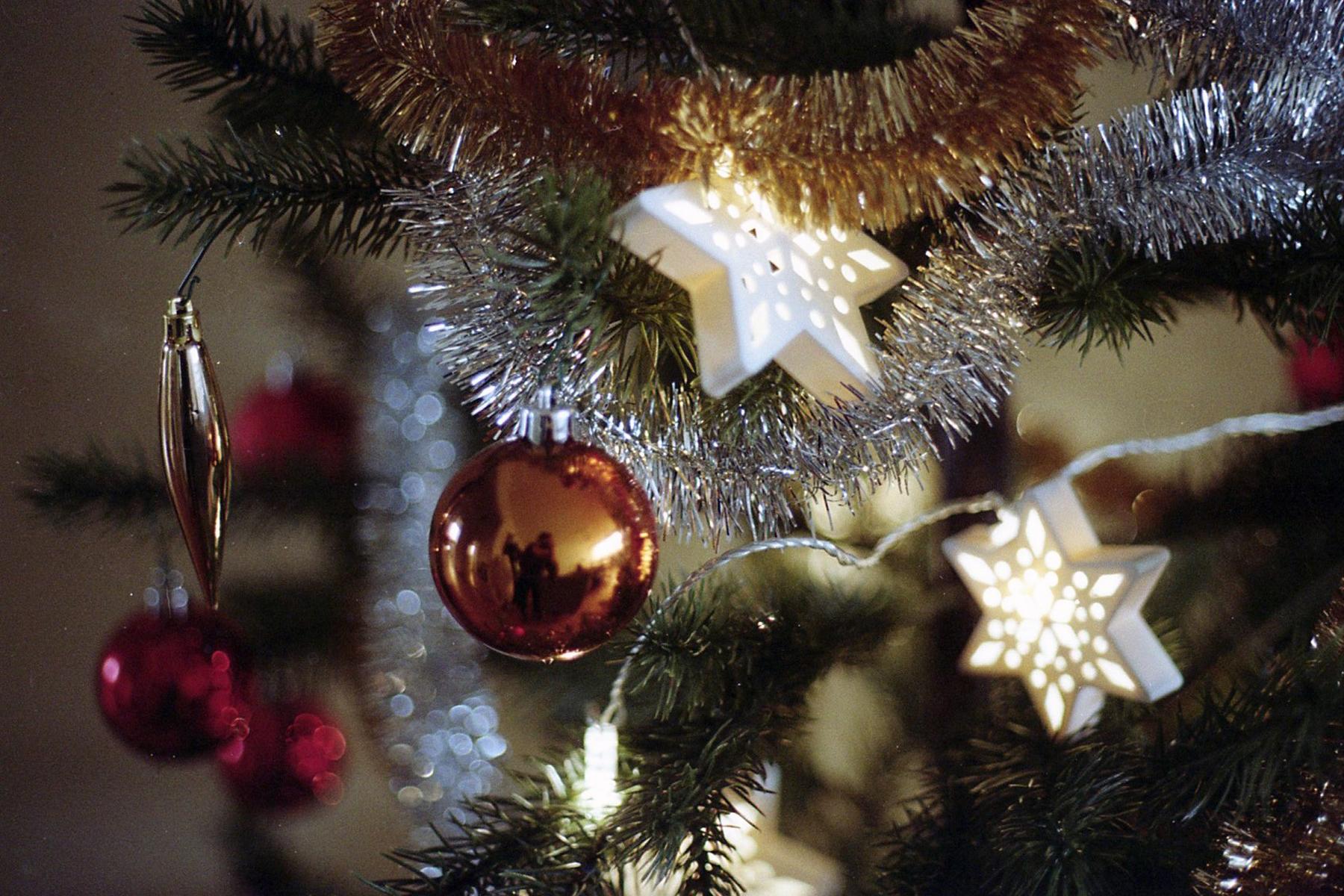 Christmas   Canon AE 1 Program   Kodak Color Plus 200   La Fille Renne
