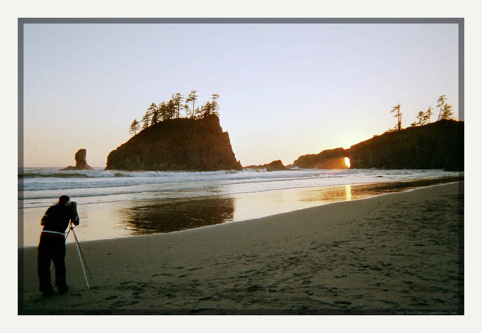 Shot in 1999 on the Washington Coast with a cheap,disposable film camera