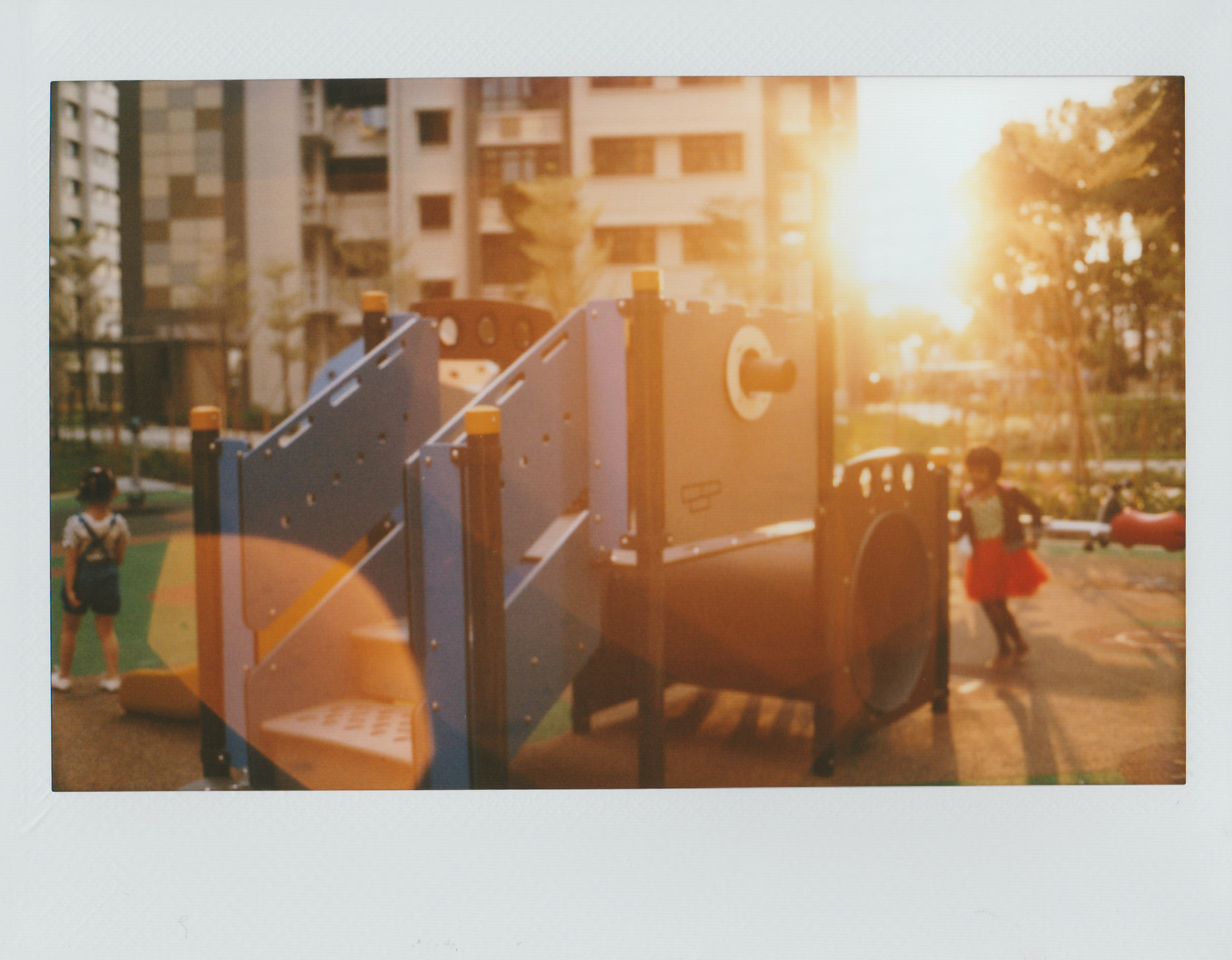 Another day | Modified Instax Camera and Mamiya Universal Lens | Notches