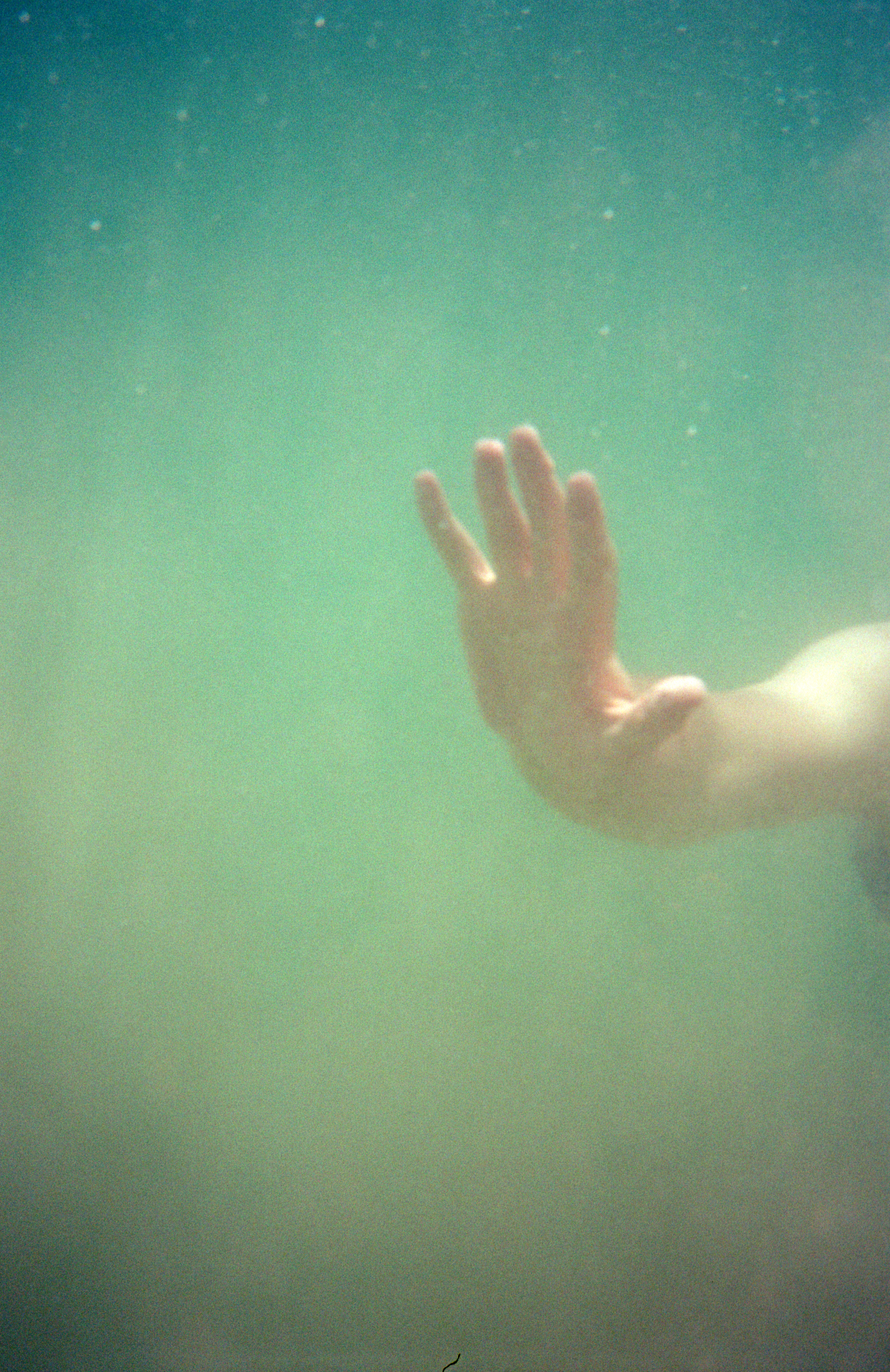 Katt Janson Merilo | Touching the Void | Expired Underwater Disposable