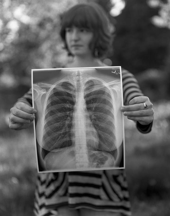 The Heart [Self Portrait] | Speed Graphic | HP400 | Katt Janson Merilo