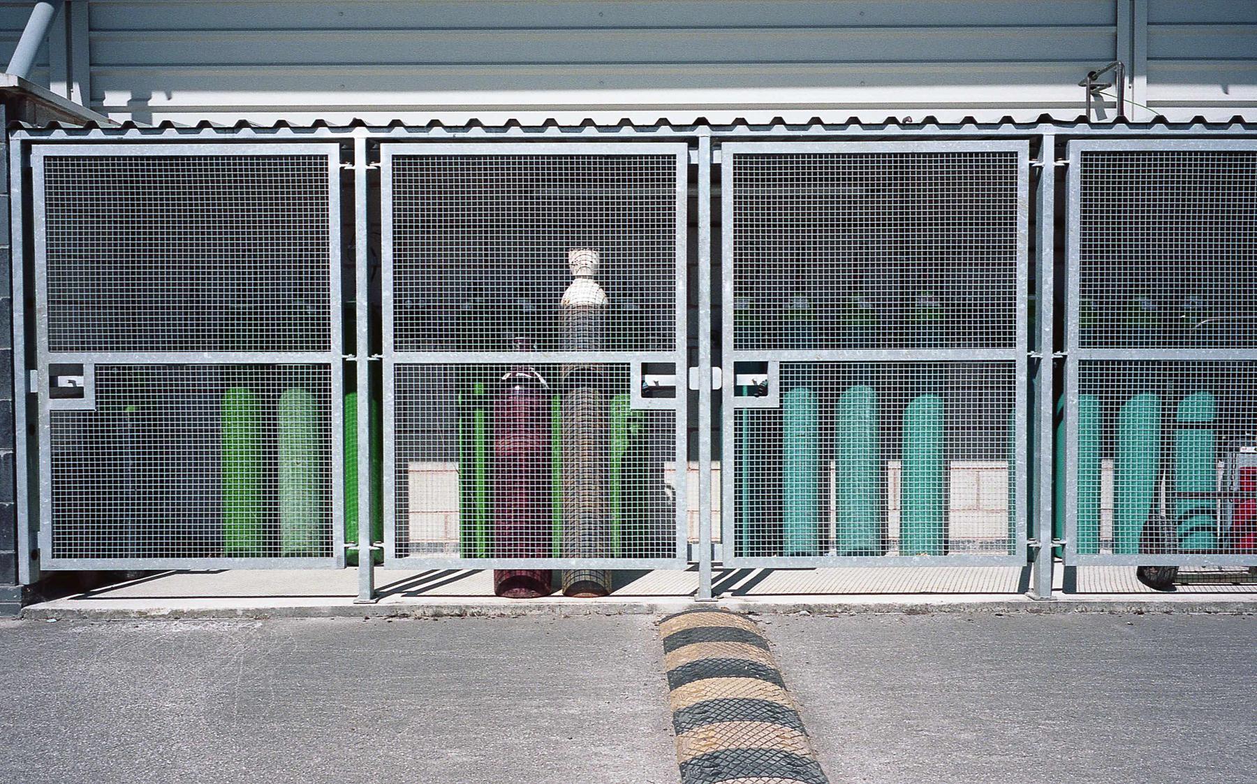 Gas Bottles | Leica M6 | Zeiss 35mm 2.8 | Portra 160 | Robert Law