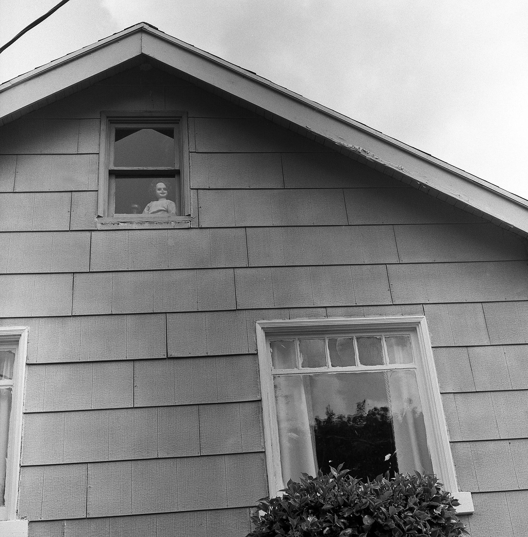 Dolly In Window   Rollei 3.5   HP5   Sarah Taft