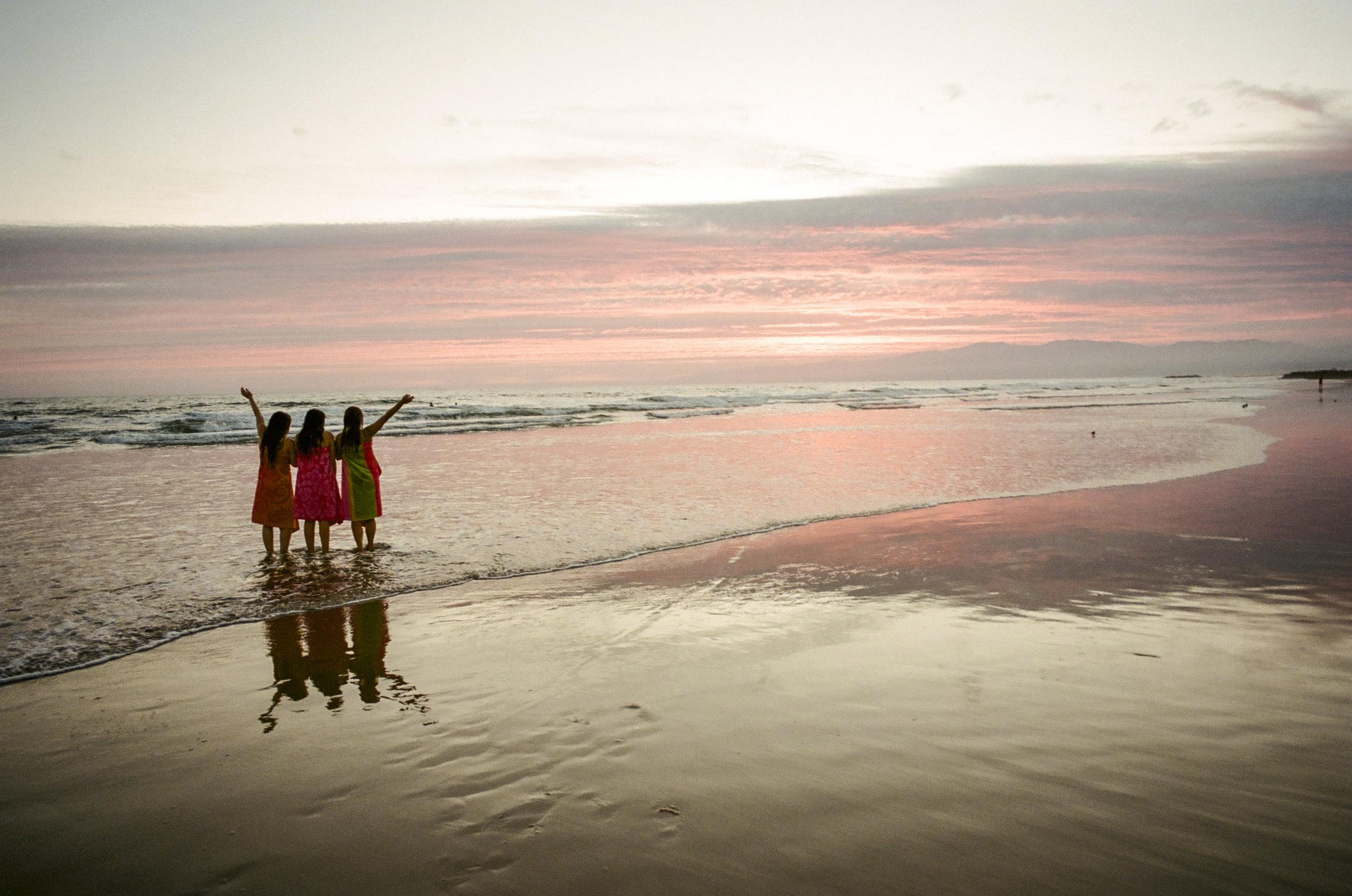 Venice Beach Sunset   LeicaM5   Portra 400   Tony Klimas