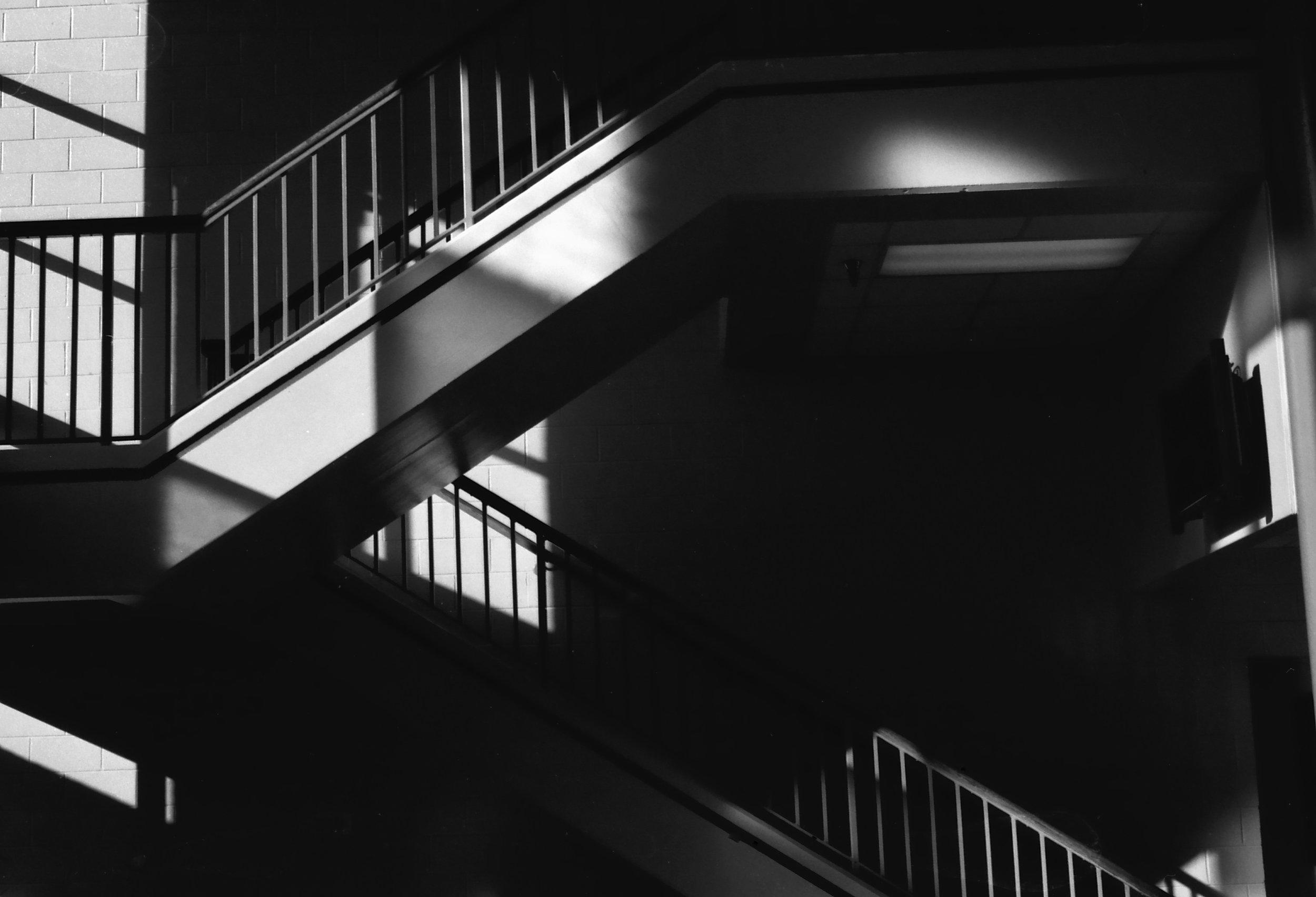 Stairs | Minolta XE7 F | Bobby Kulik