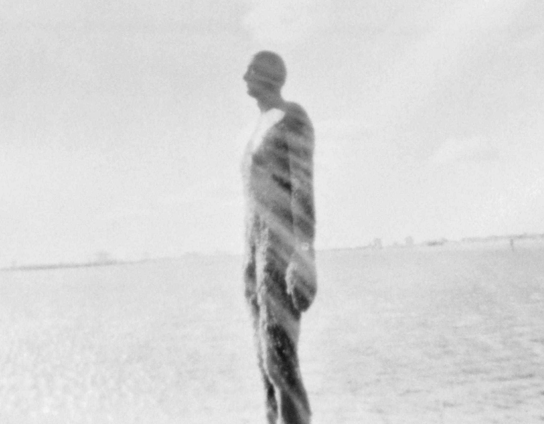 The Man Who Fell To Earth, 5x4 pinhole camera, medical xray film