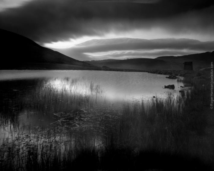Top Lake, Blaengarw with Intrepid and 90mm Super Angulon