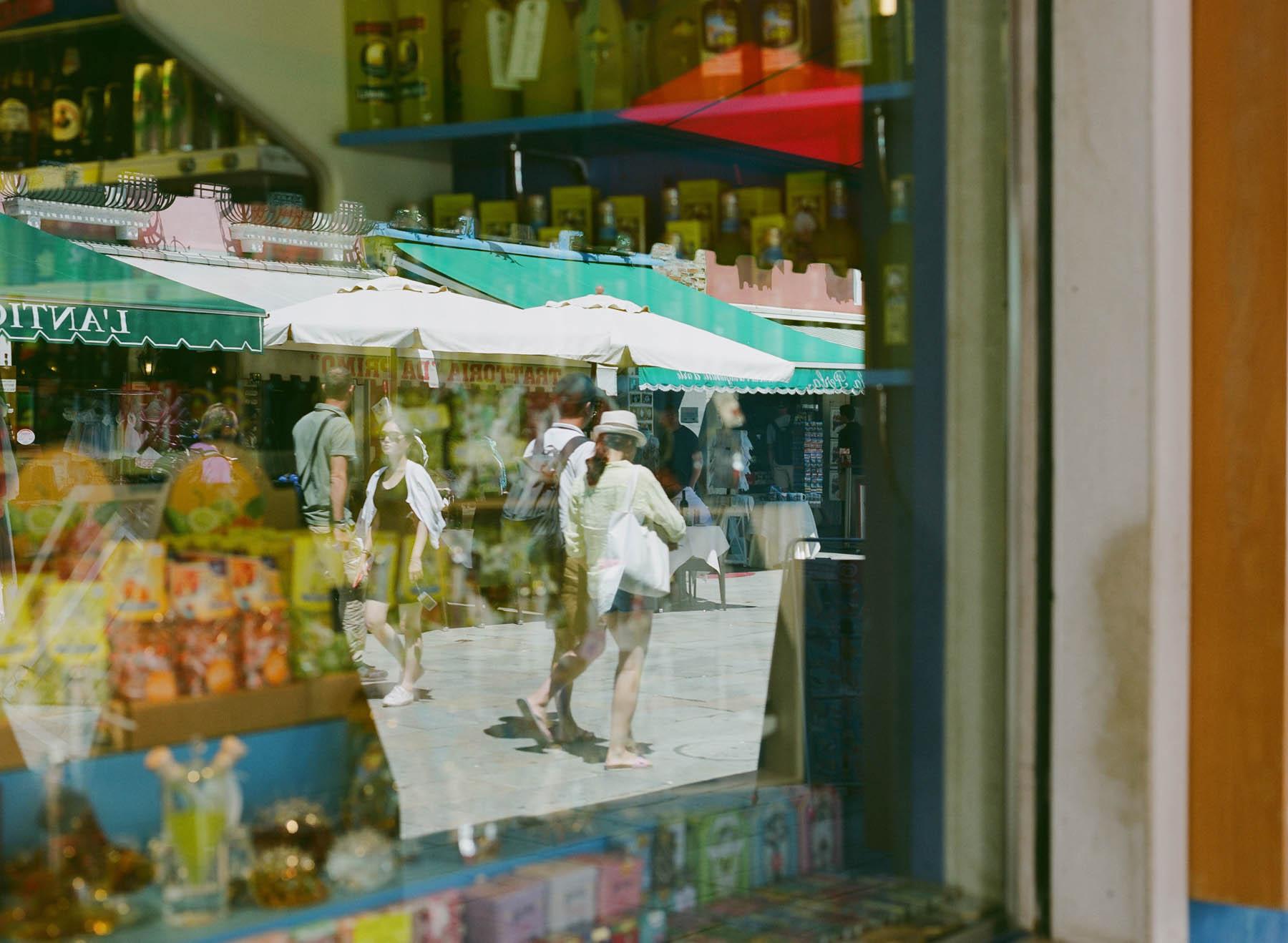 Tourists | Pentax 645n | Fuji 160NS
