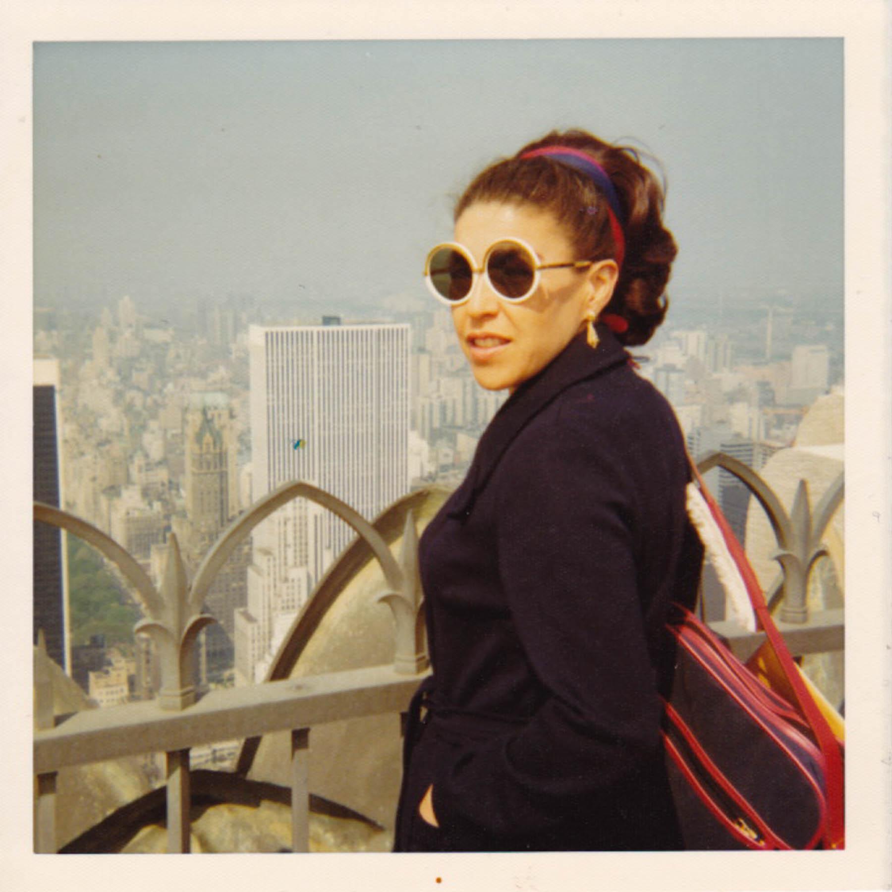 Mom over New York | Kodak Instamatic