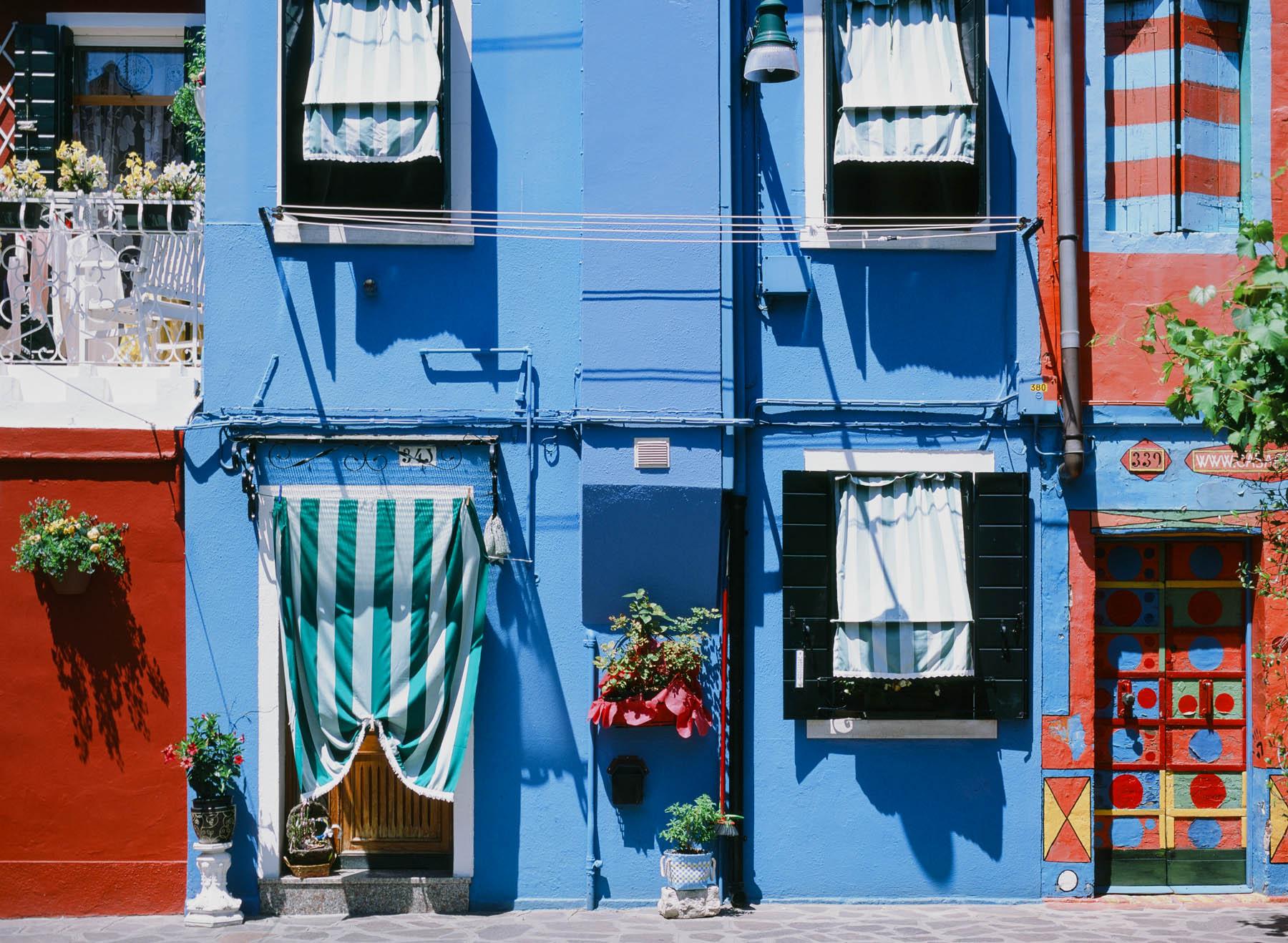 Beautiful Burano | Pentax 645n | Provia 100