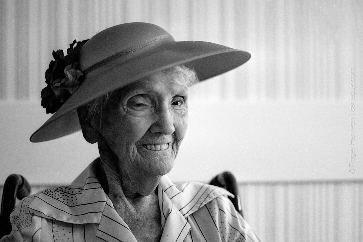 Beginning of a New Century - Mrs Beryl Harding's 100th Birthday | Roger Harrison | Contax G1 | Ilford XP2