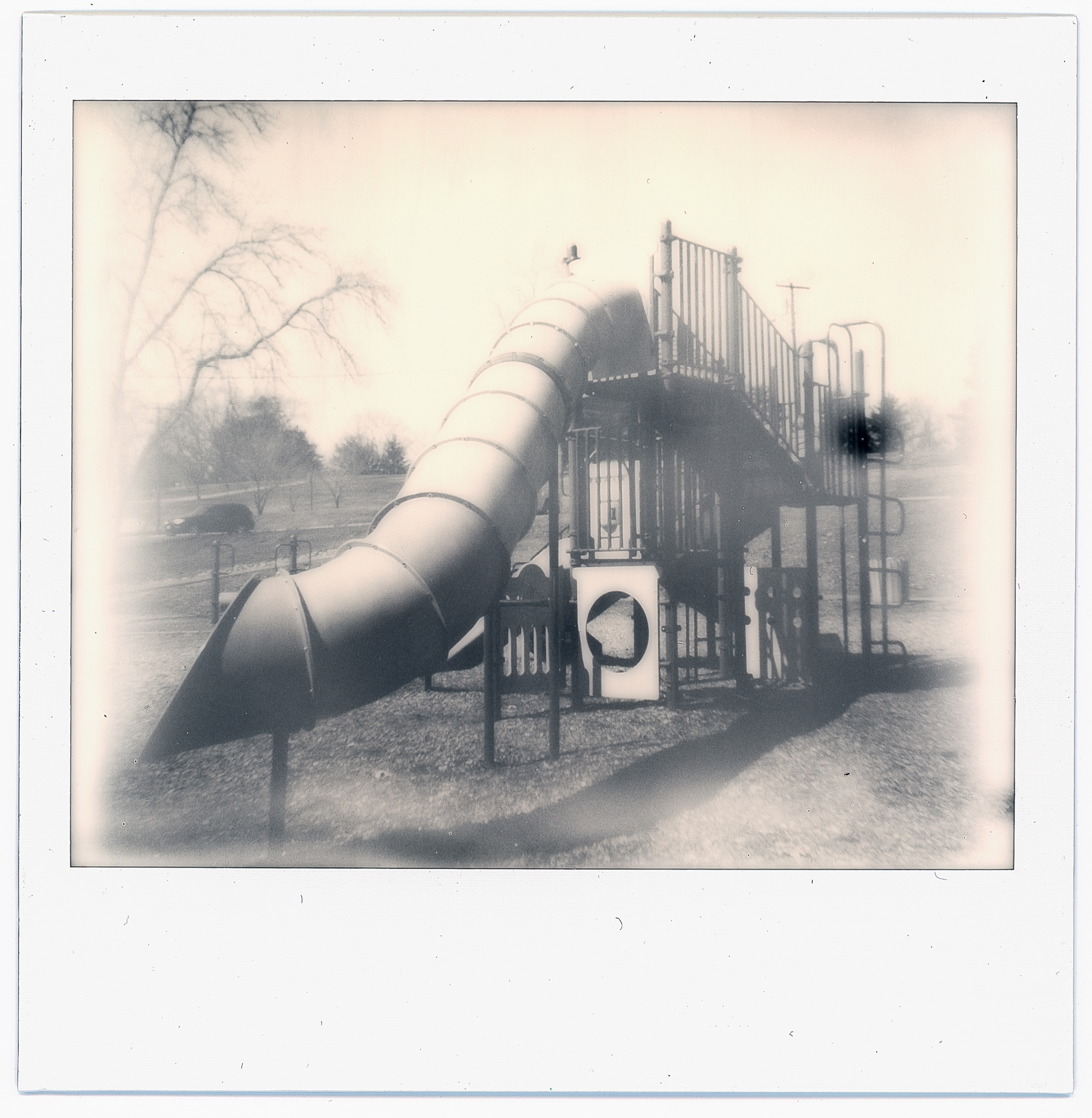 Untitled | Polaroid Spectra | Expired Impossible B&W | Ruby Berry