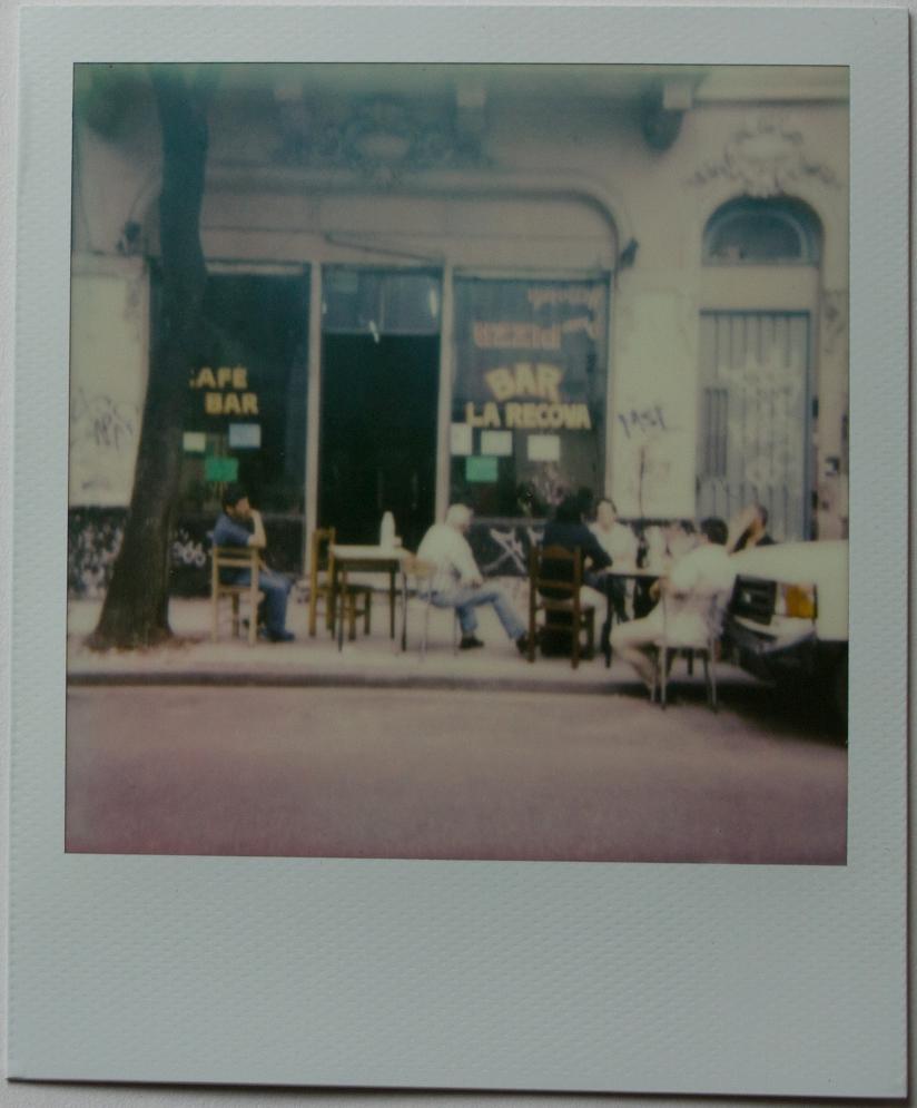 Bar La Carova | Polaroid One Step | Impossible Color 600 | Franco Carino Zanotti