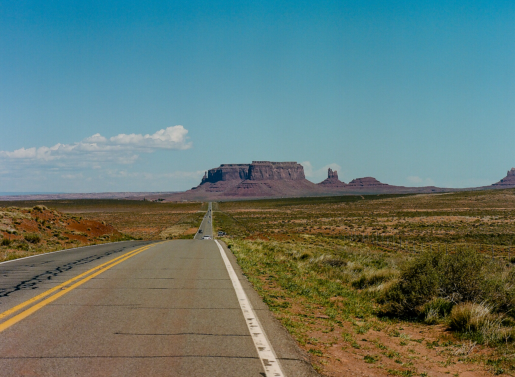 Monument Valley   Pentax 645 and 55mm   Chuck O'Brien