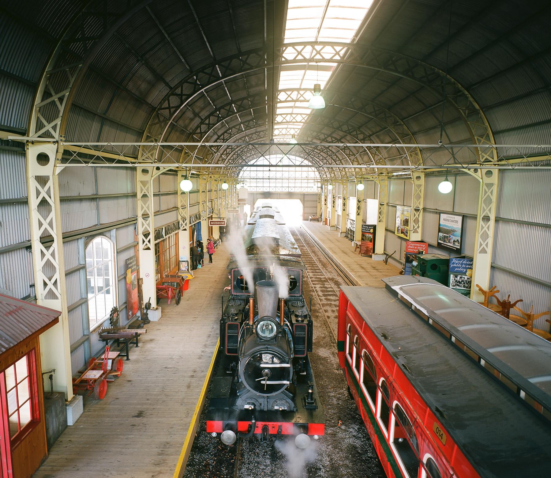 The Station   Mamiya7 43mm   Ektar 100   Jane McLoughlin