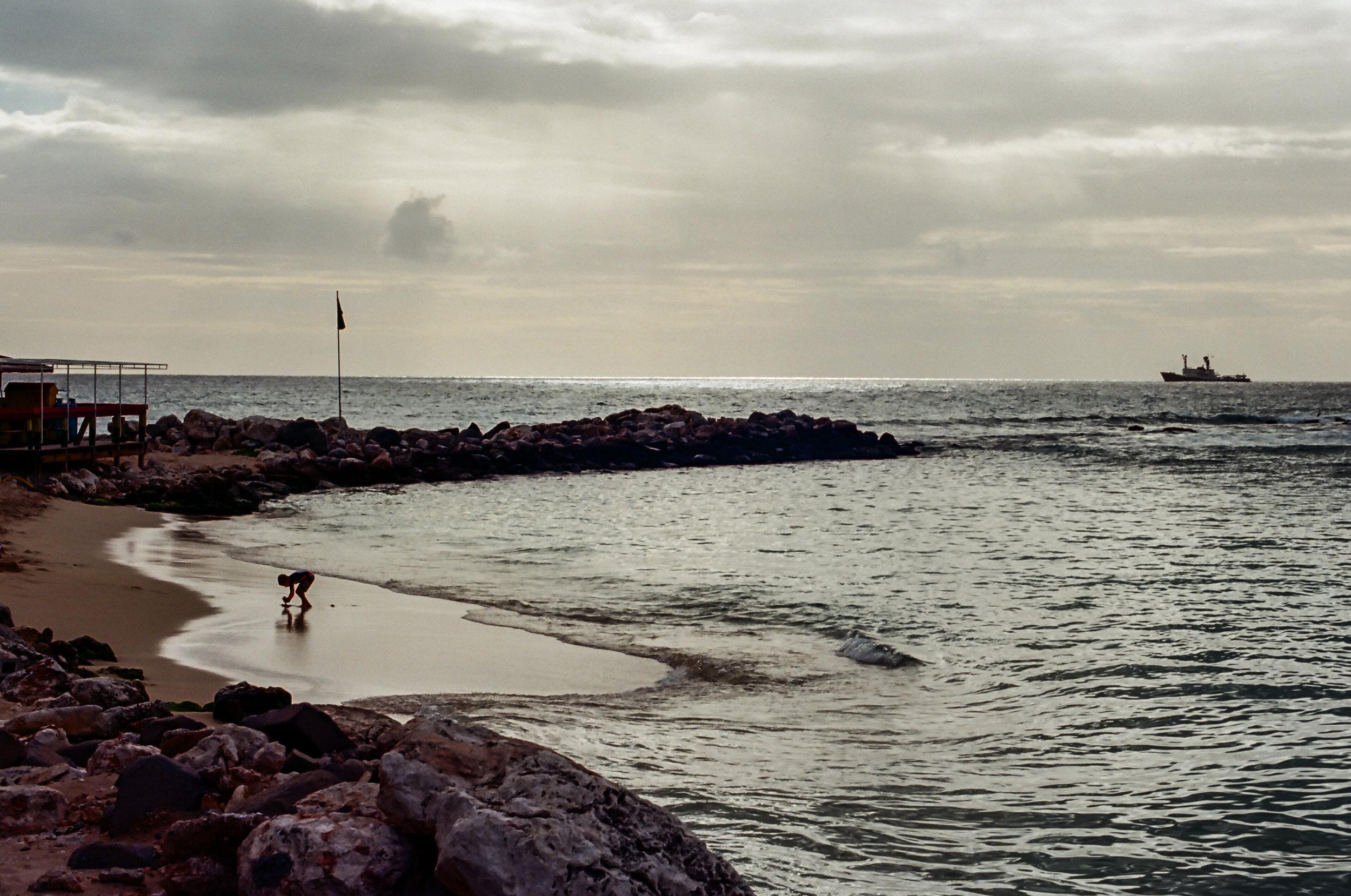 On the Beach   Nikon F100   Nikon Nikkor 50mm f1.4   Portra 400   Michael Fauscette