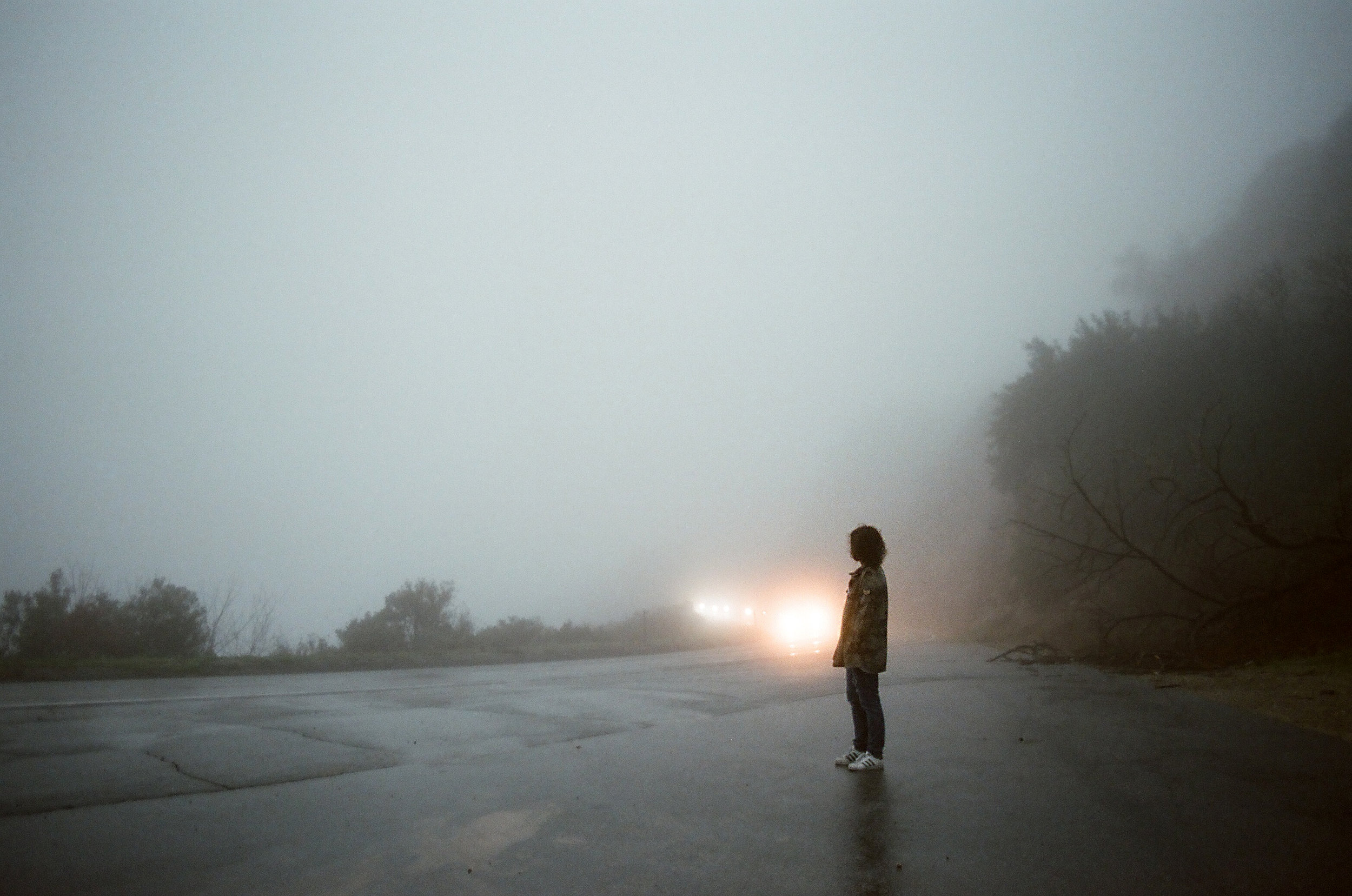 Foggy Highway | Canon AE1 | FD 28mm | Fuji Pro 400 | Angela Pailevanian