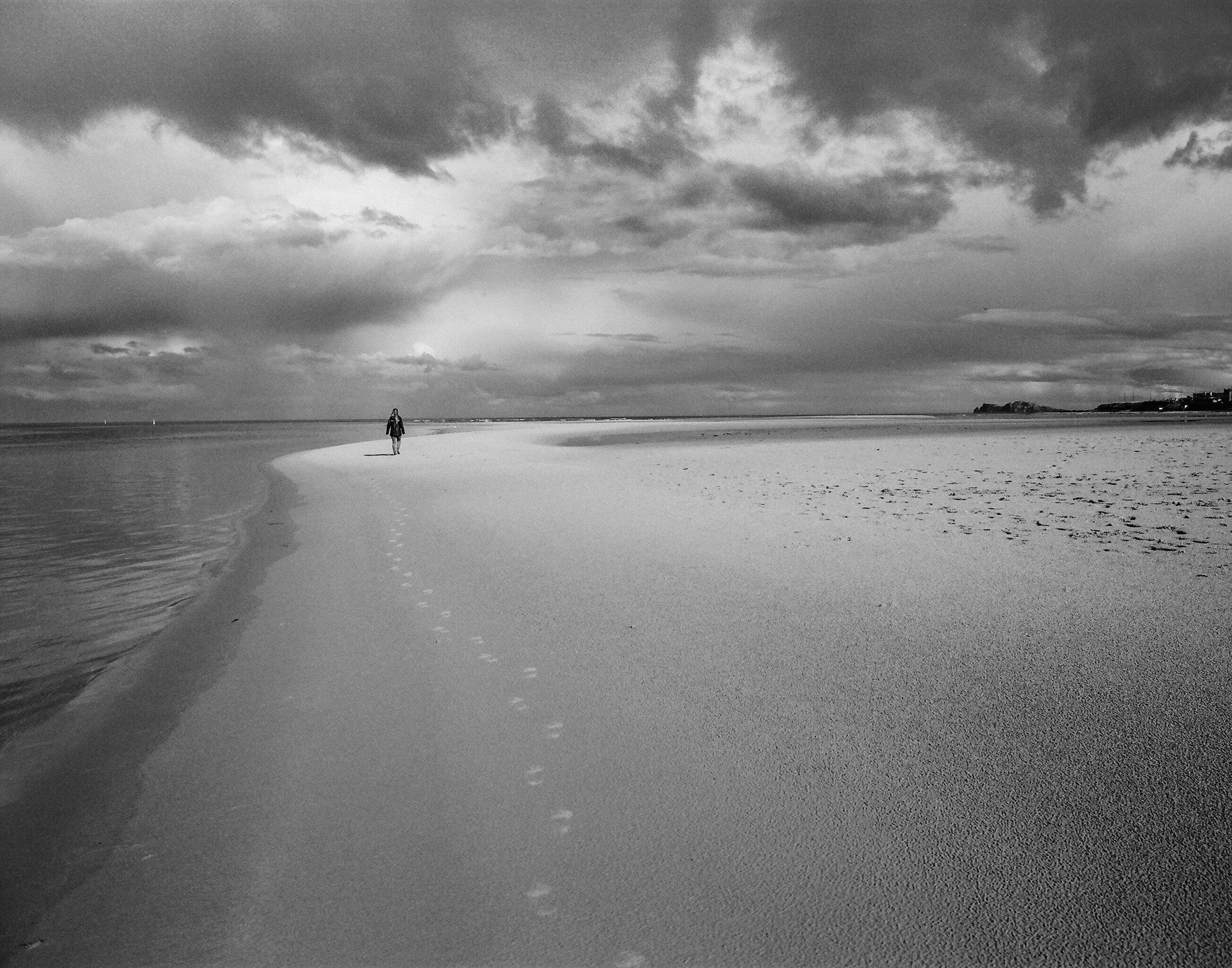 Alone At Malahide | Leica M6 | Ilford Delta 100 | Mike Ruble