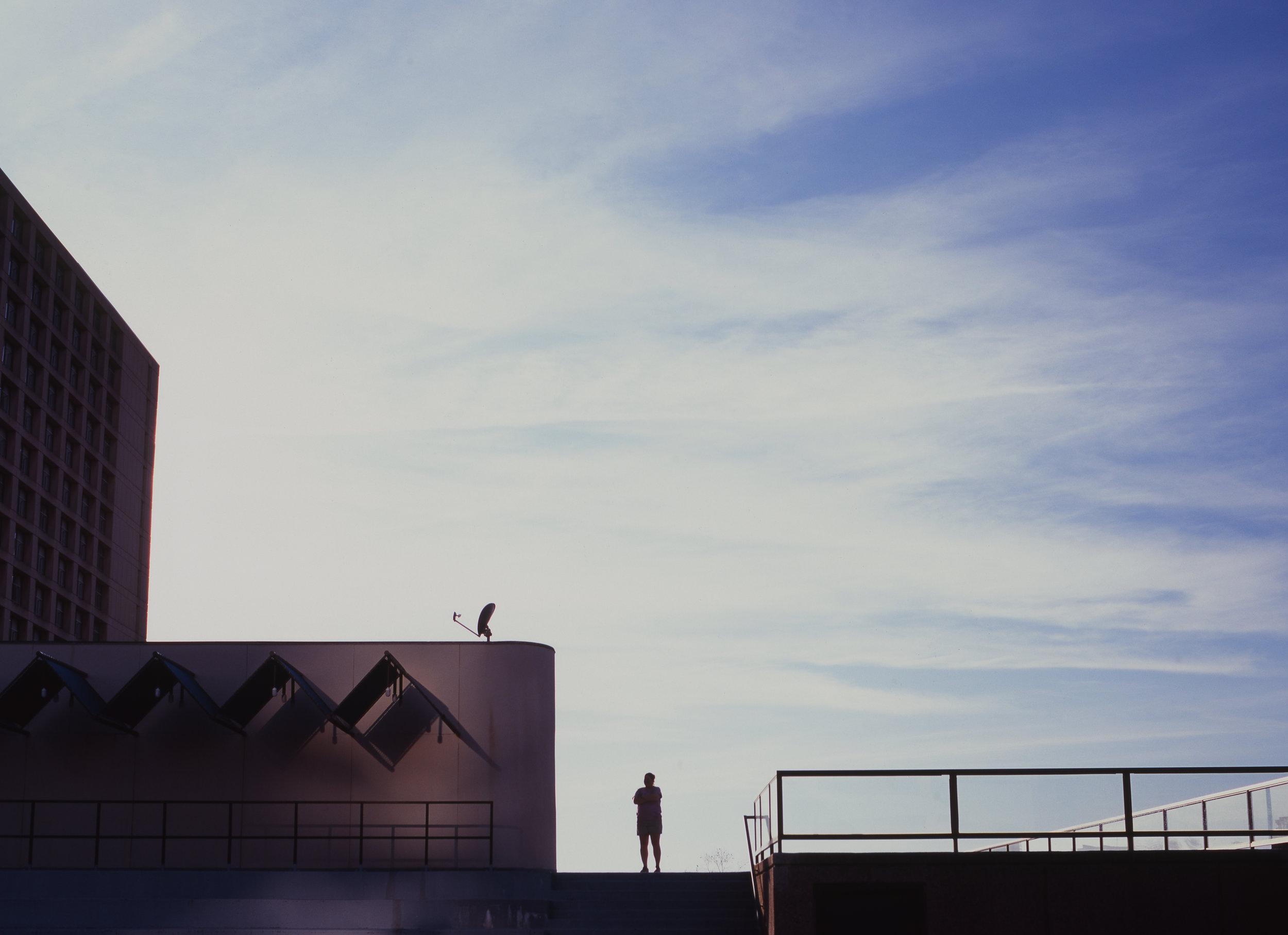 KC Rooftop | Mamiya 645 ProTL 45mm2.8 | Velvia 50 | Brad Lechner