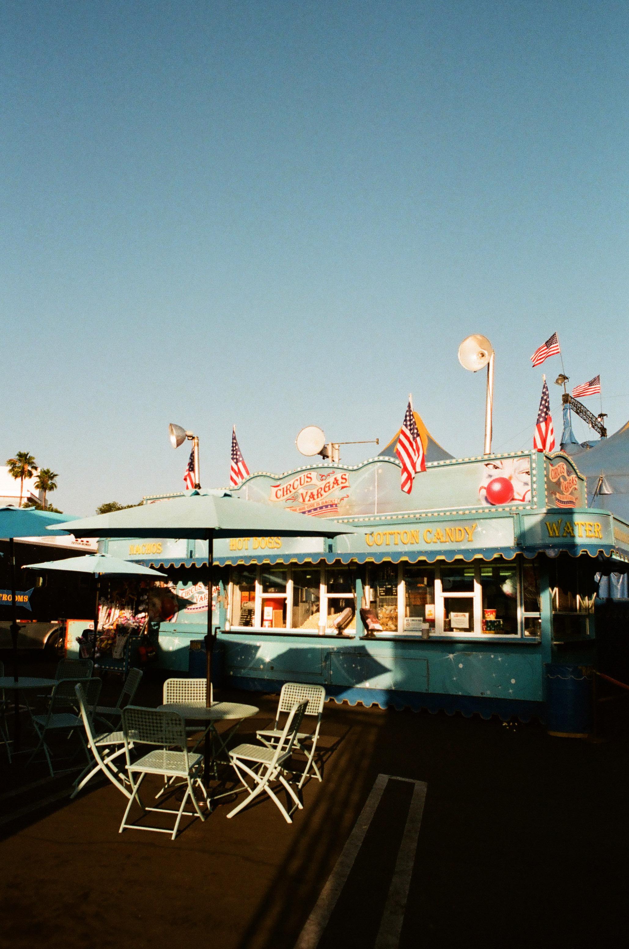 Angela Pailevanian | Circus Grounds | Canon 10S - EF35mm | Kodak Portra 800