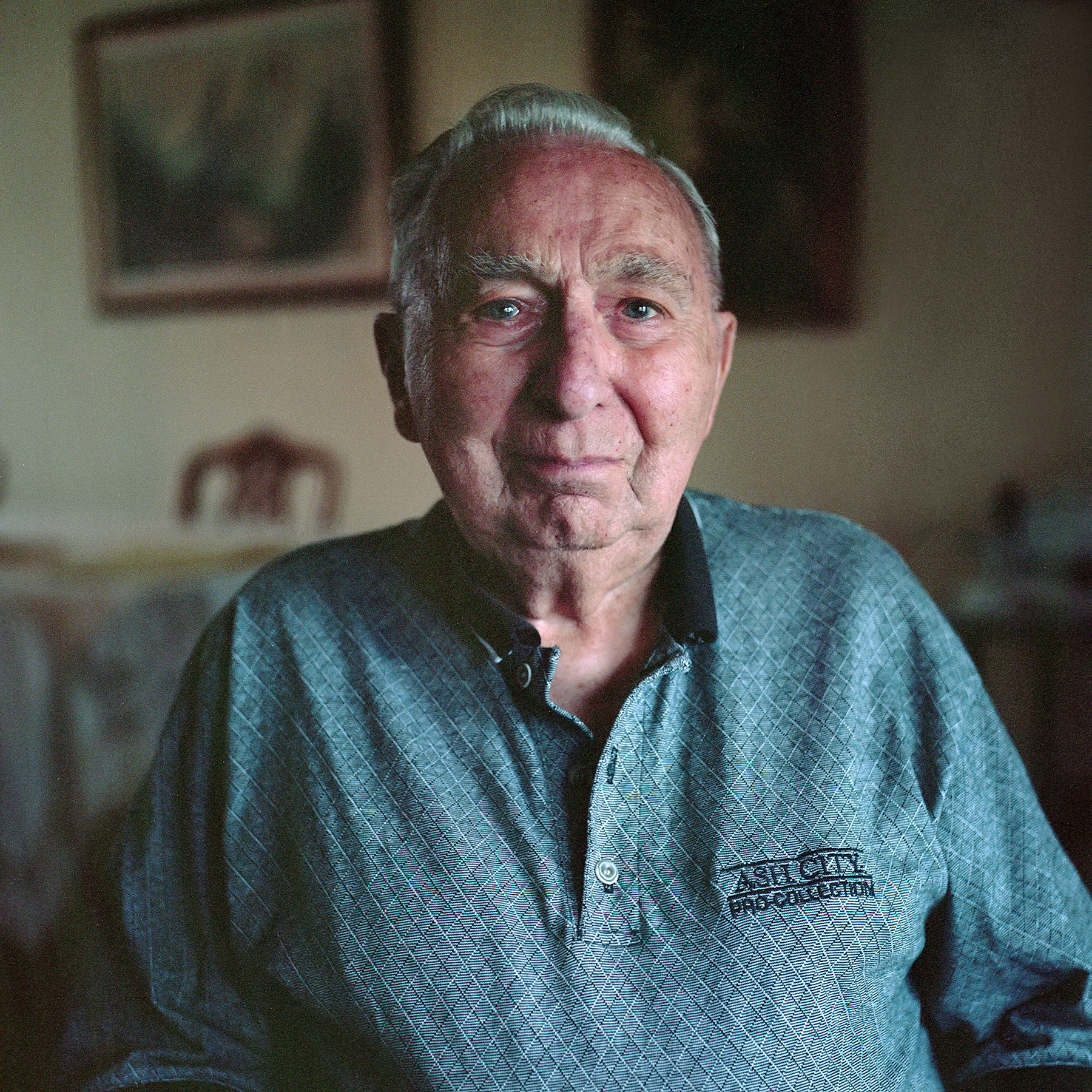 Howard Sandler | My father at 96 | Ricoh Diacord | Portra 160