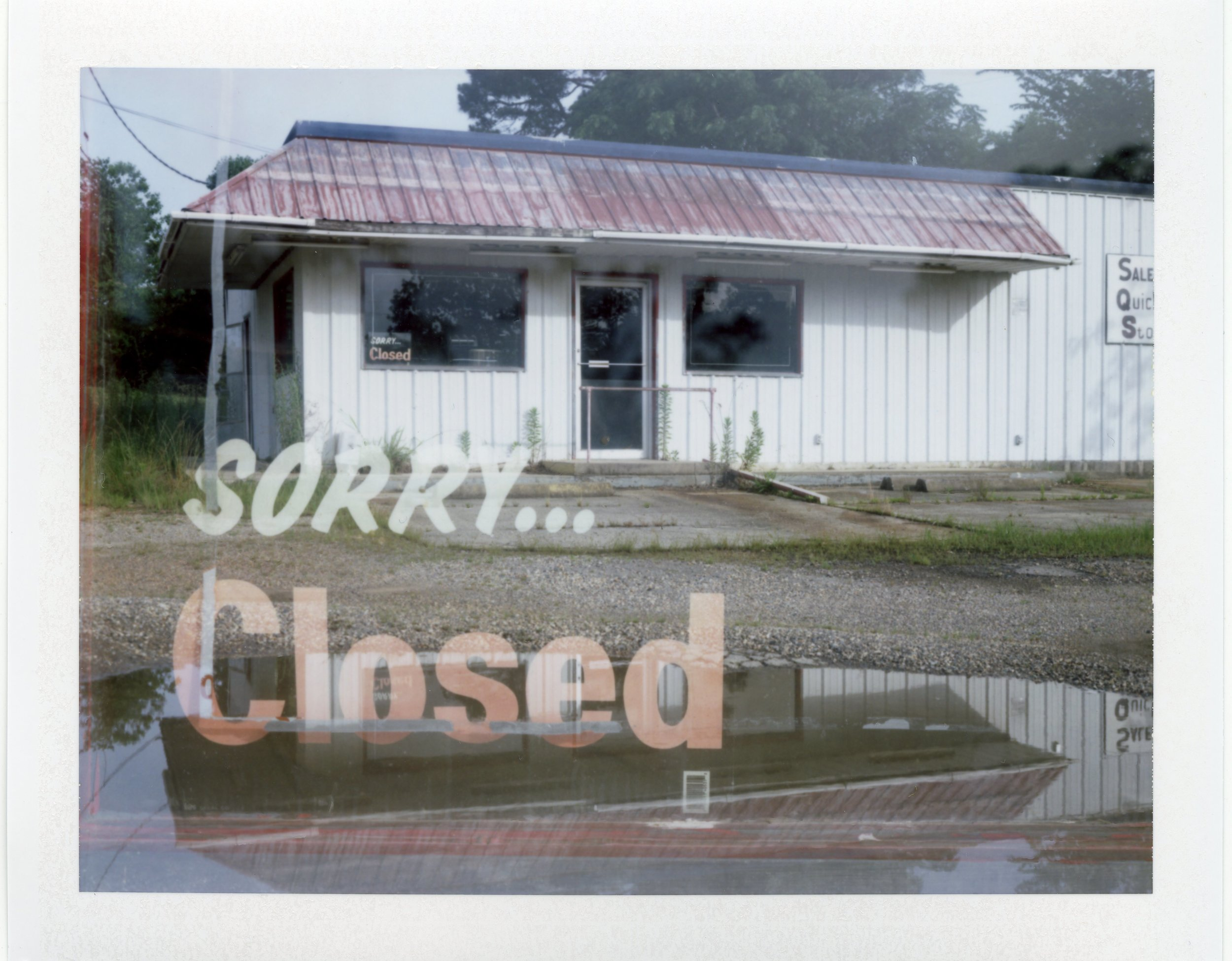 Sorry Closed | Polaroid 110a | Fuji FP100C |  Michael  Mooney